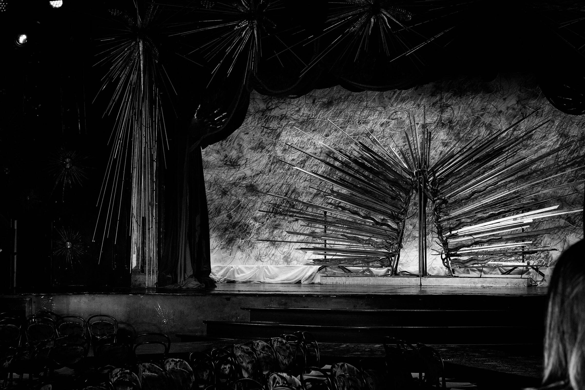 John Varvatos Backstage Fashion Show