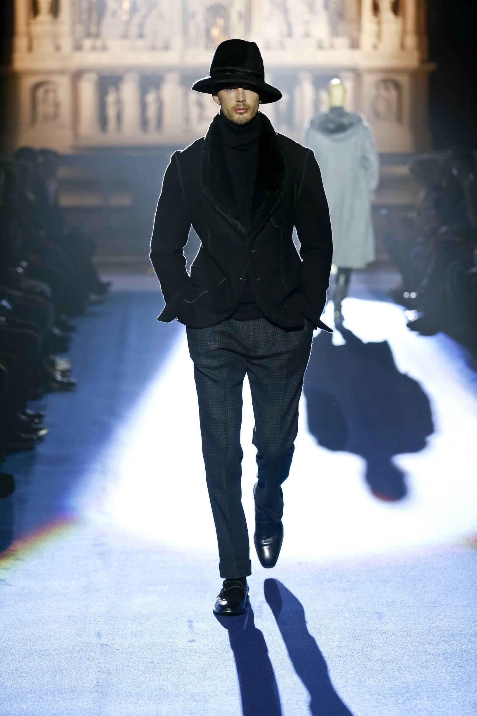 Joseph Abboud Man Catwalk
