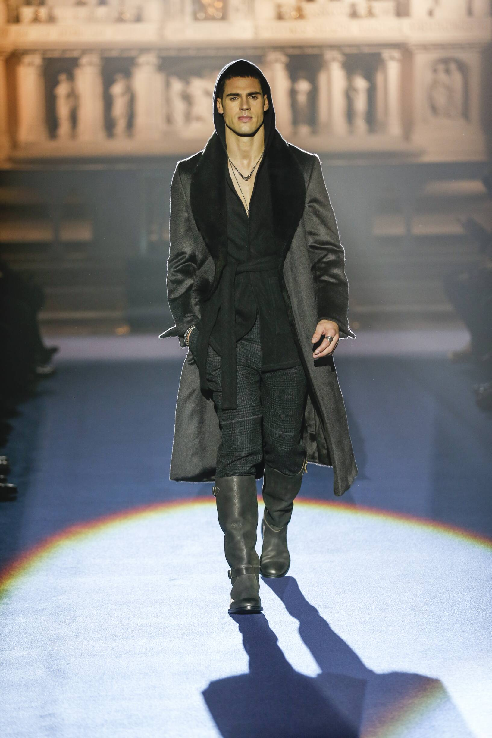 Man FW 2017-18 Fashion Show Joseph Abboud