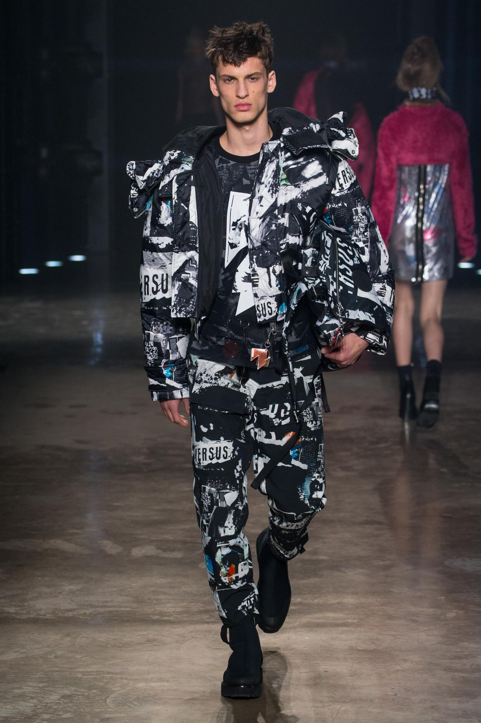 Menswear FW Versus Versace 2017