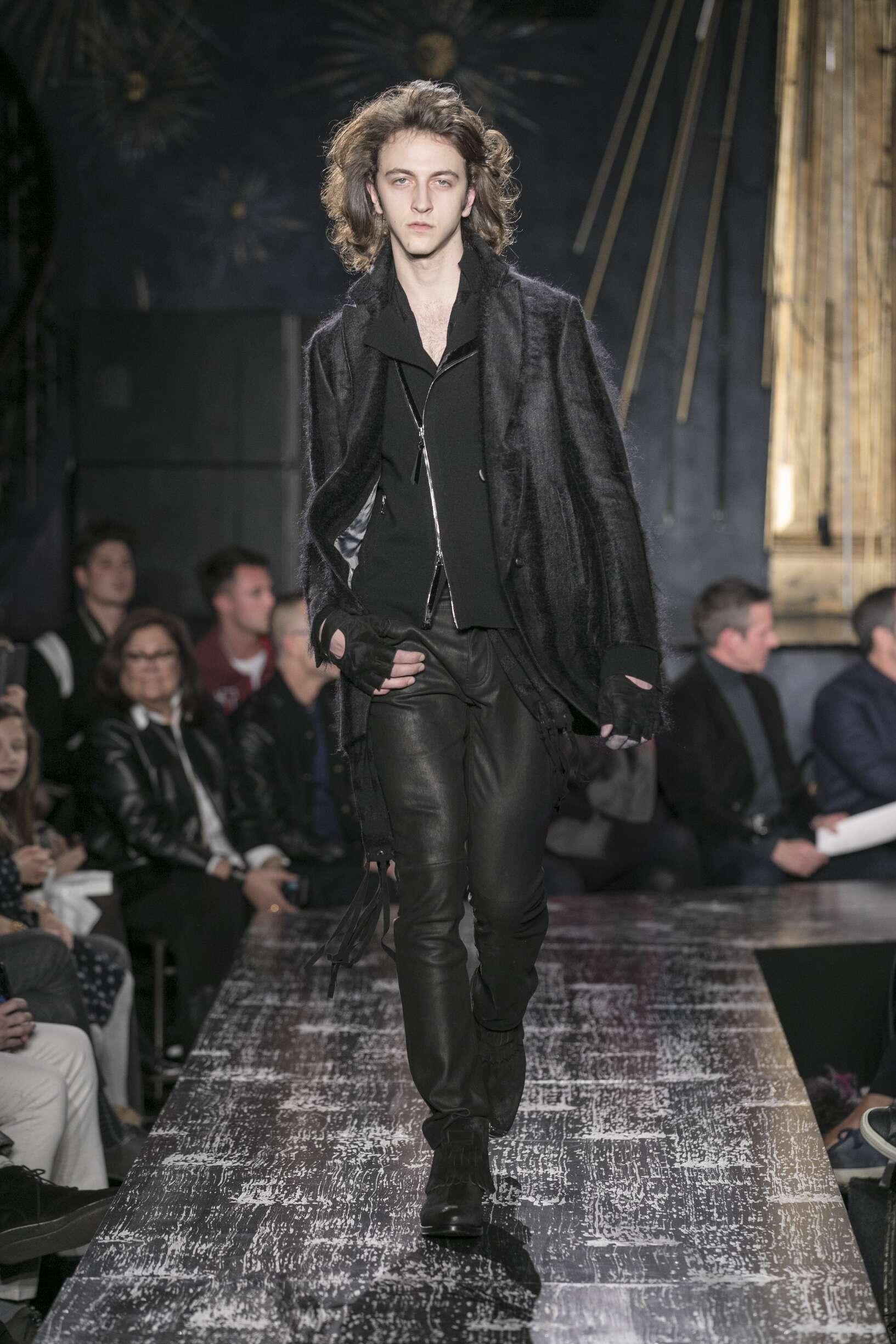 Model Fashion Show John Varvatos
