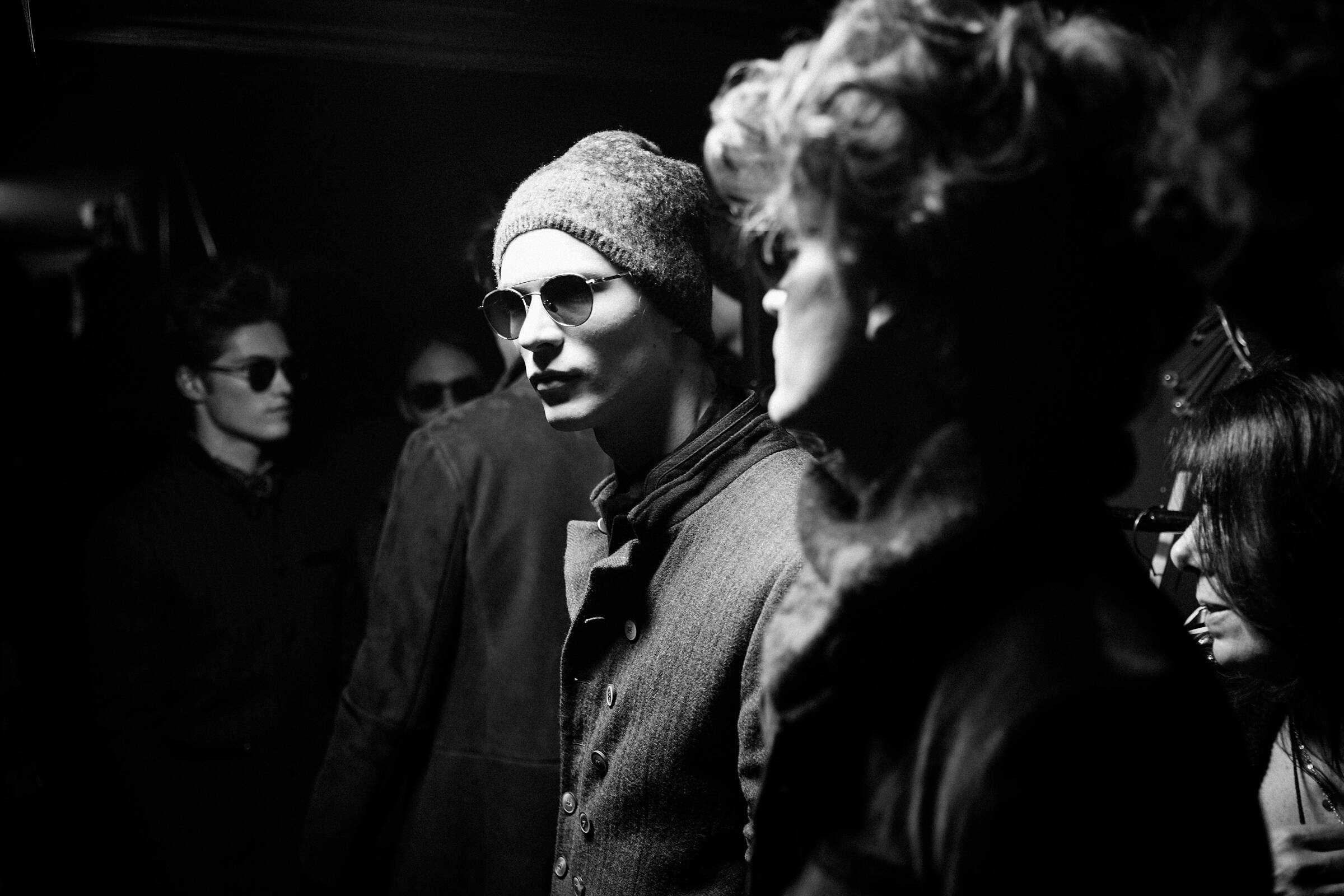 Models John Varvatos Backstage