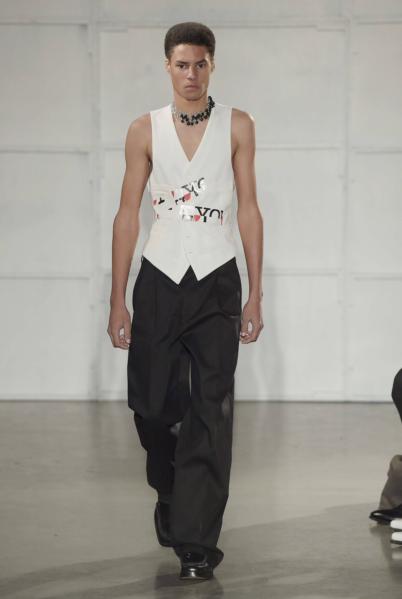 Raf Simons New York Fashion Week Menswear