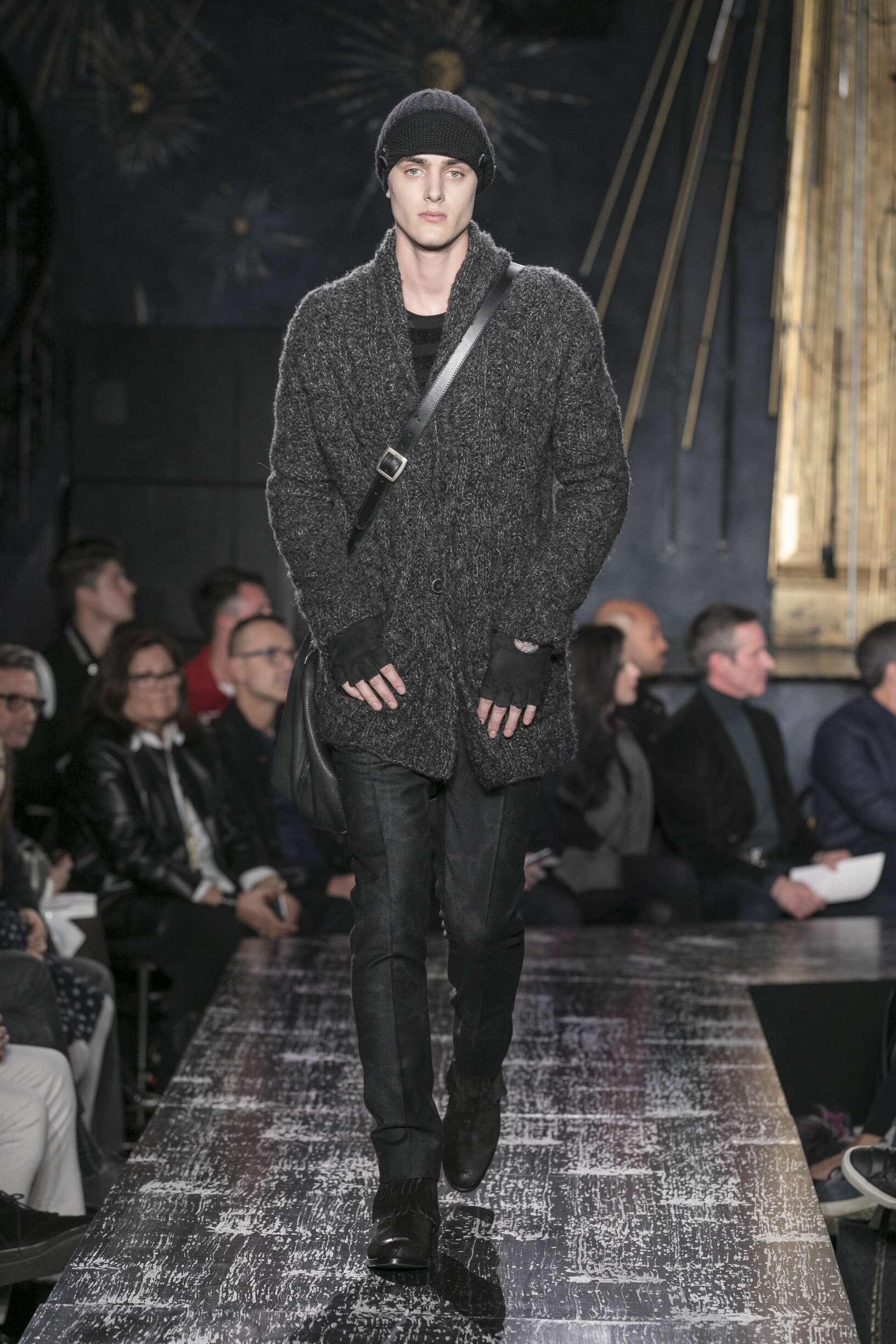 Runway John Varvatos Fall Winter 2017 Men's Collection New York Fashion Week