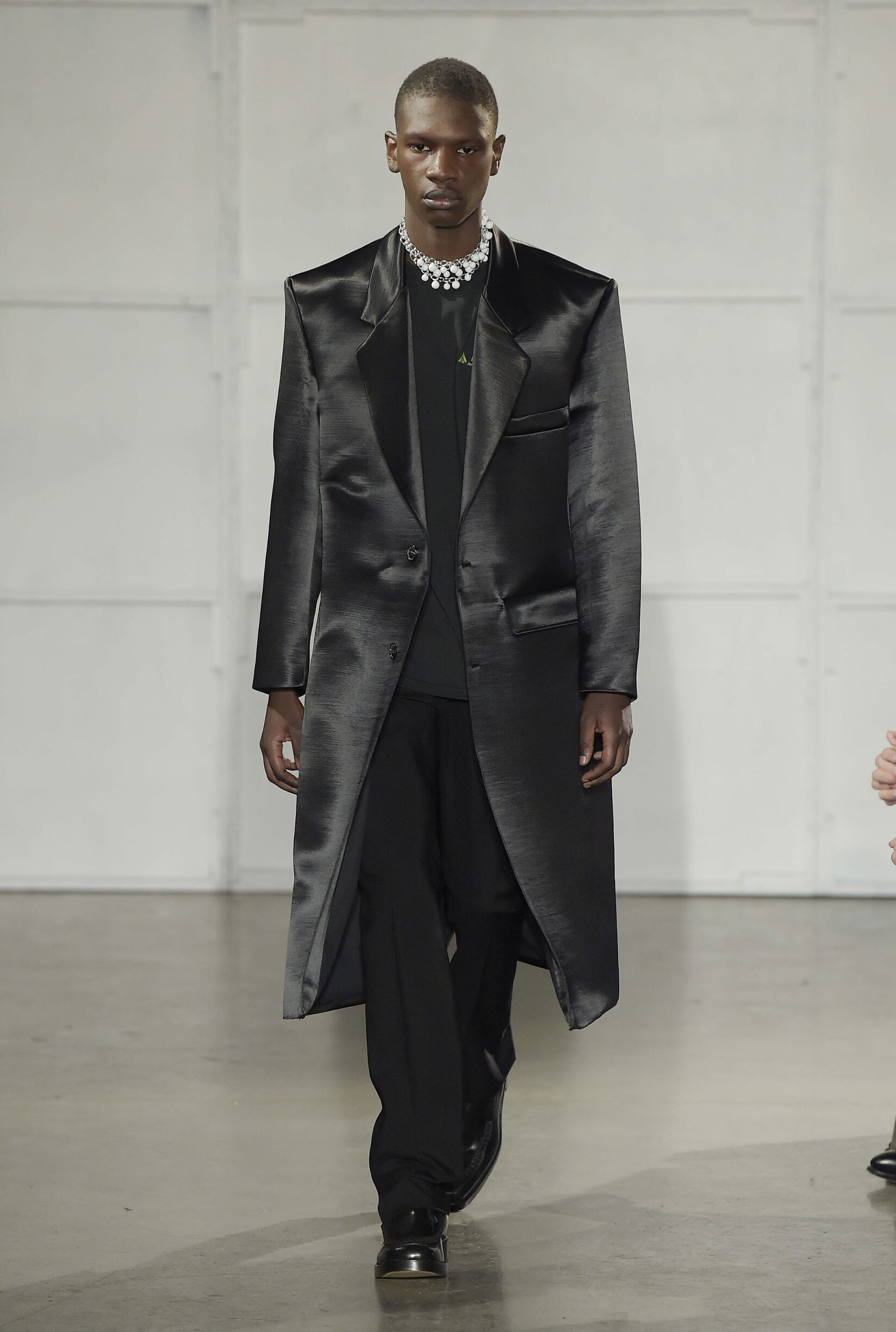 Runway Raf Simons Fall Winter 2017 Men's Collection New York Fashion Week