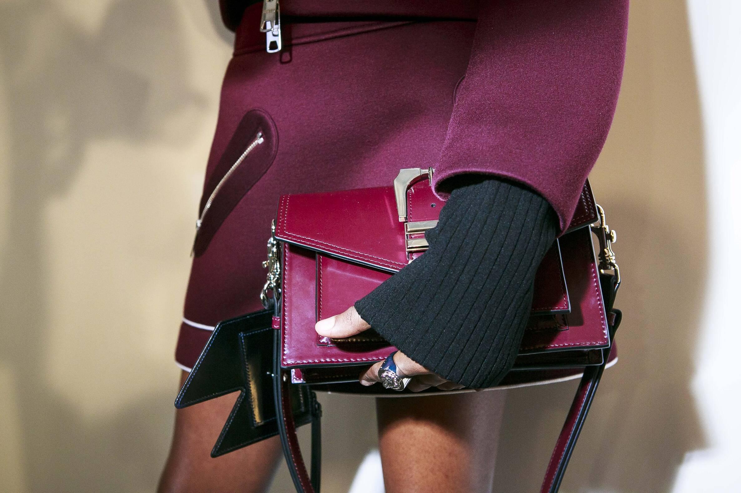 Versus Versace Backstage Detail