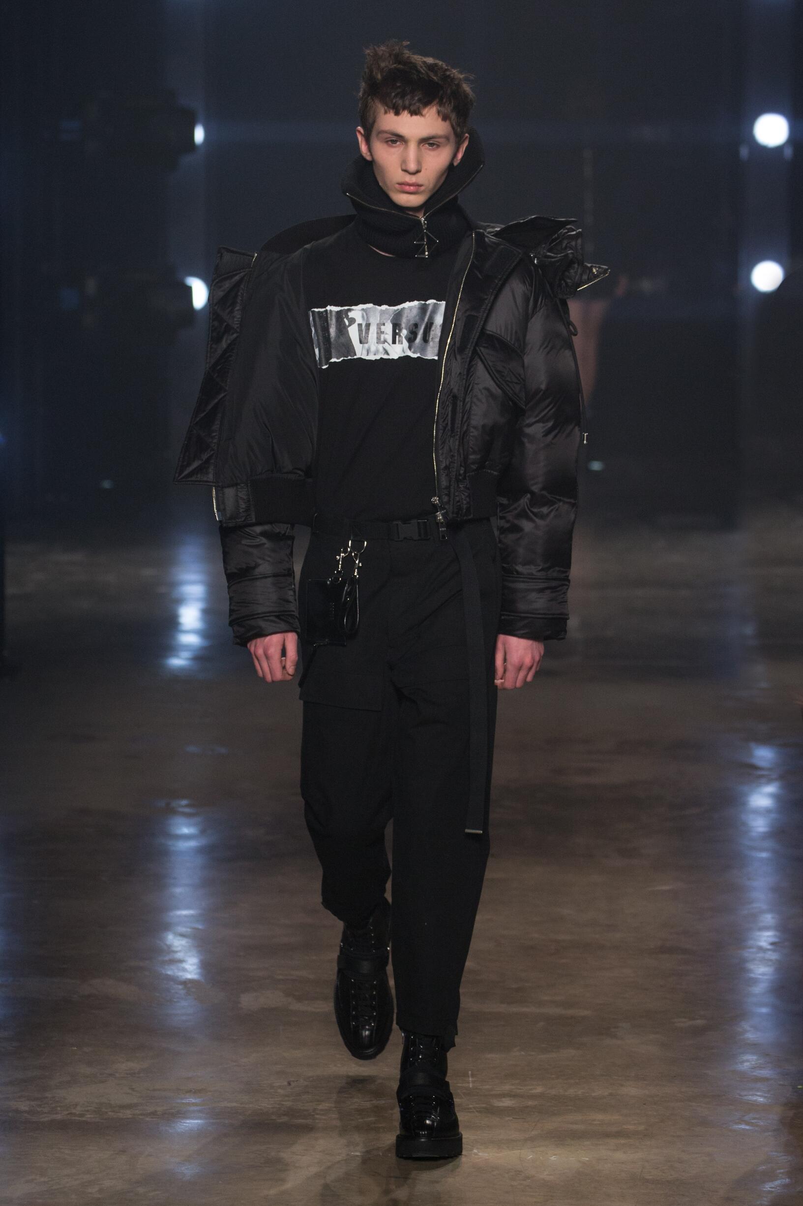 Versus Versace Man Catwalk