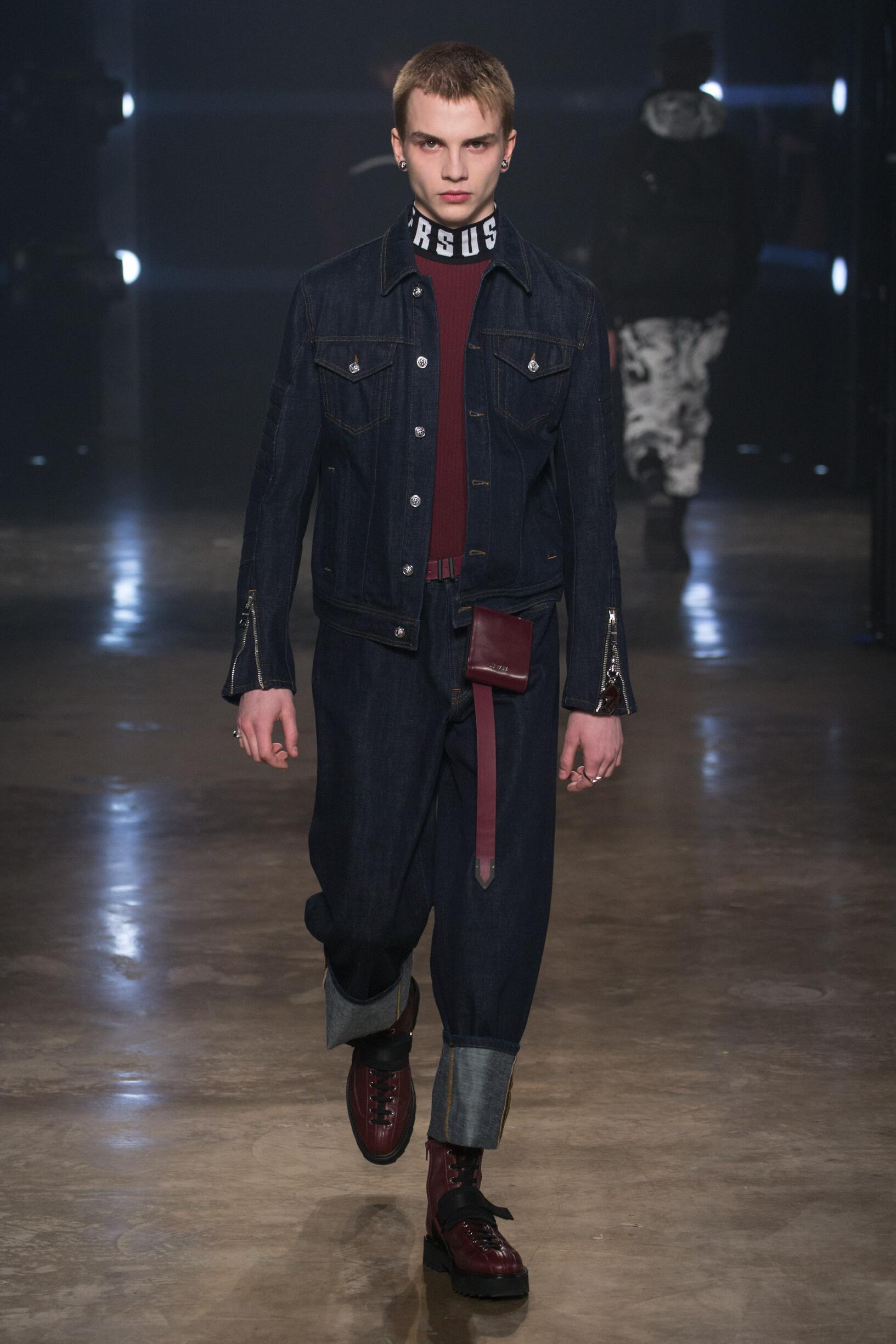 Versus Versace Man London Fashion Week