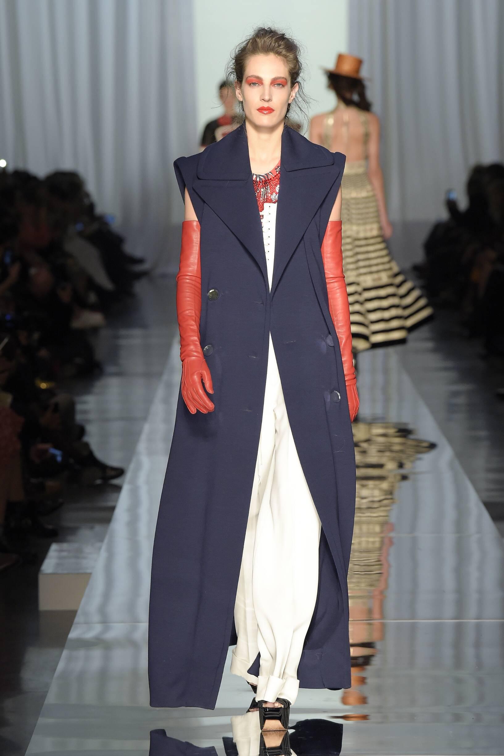 Woman Catwalk Jean Paul Gaultier Haute Couture Summer 2017