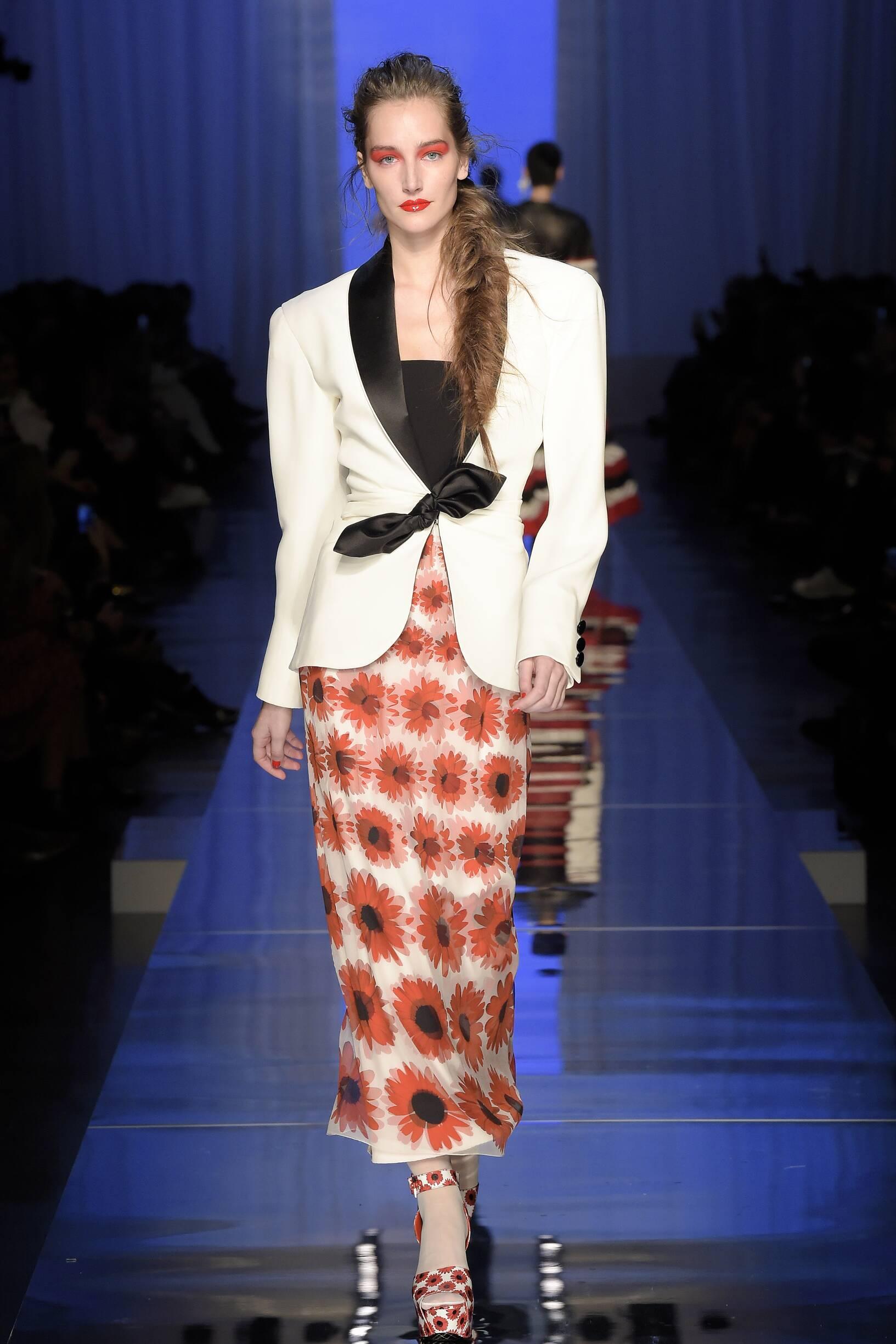 Woman Catwalk Jean Paul Gaultier Haute Couture