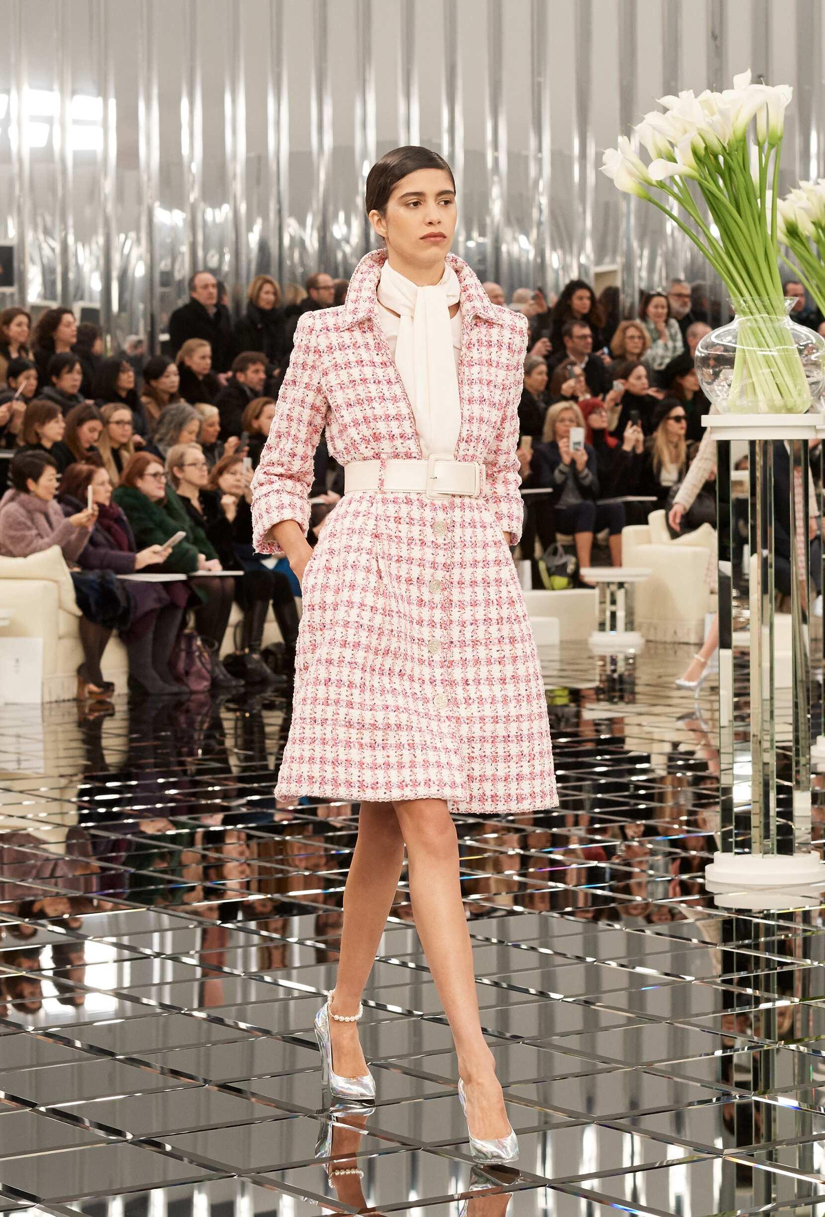 Woman Model Fashion Show Chanel Haute Couture
