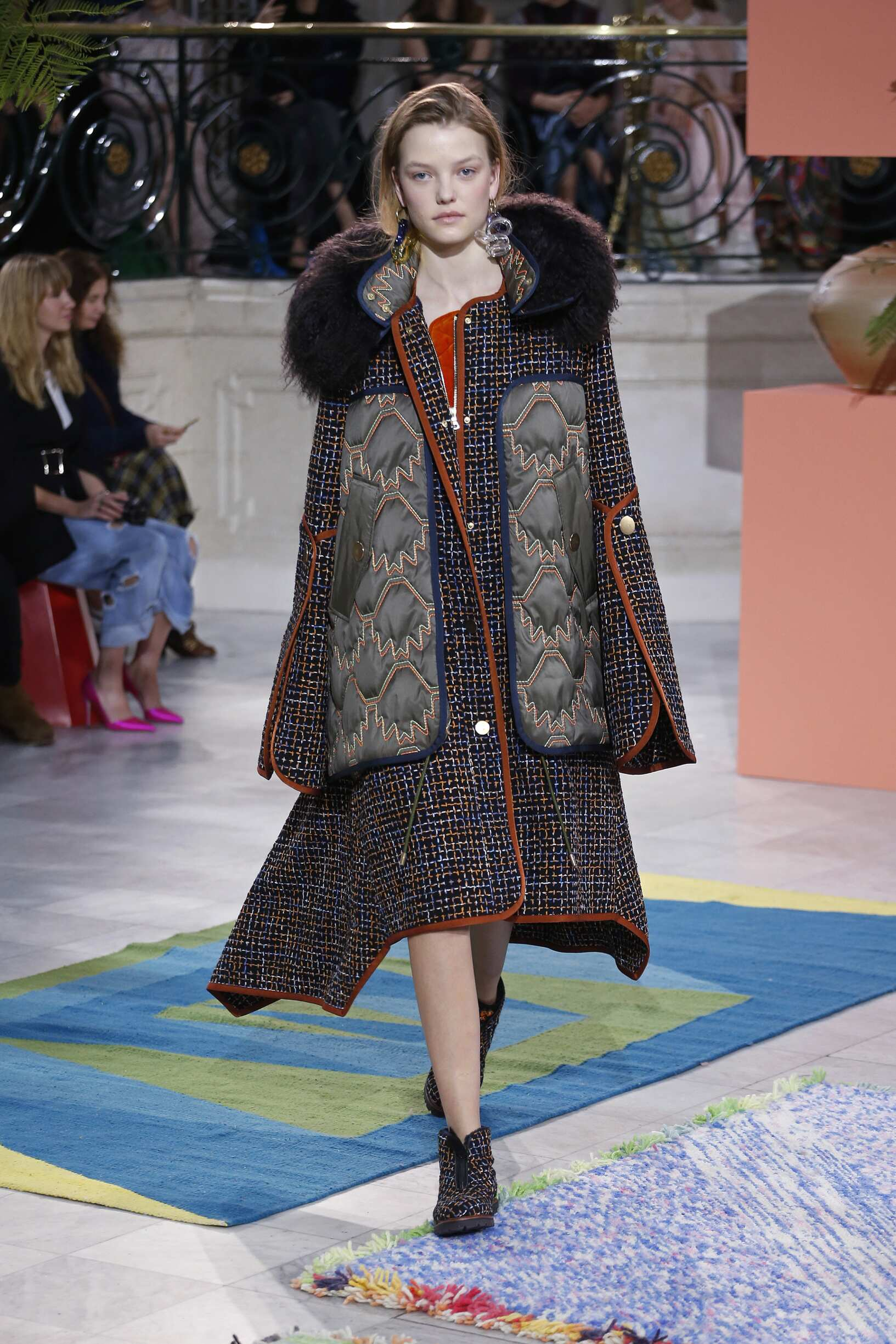 Woman Model Fashion Show Peter Pilotto