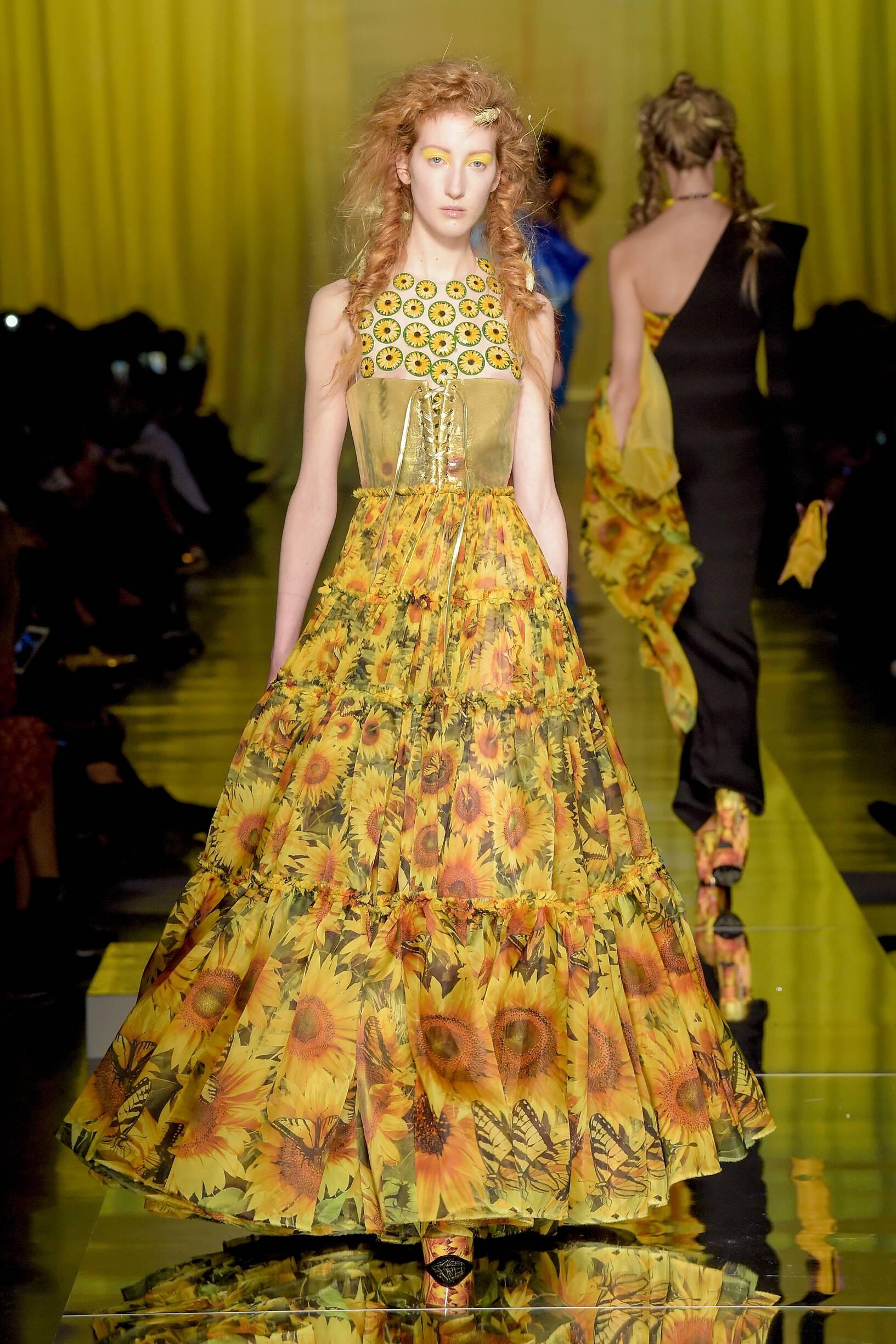 Women SS 2017 Jean Paul Gaultier Couture Fashion Show Paris