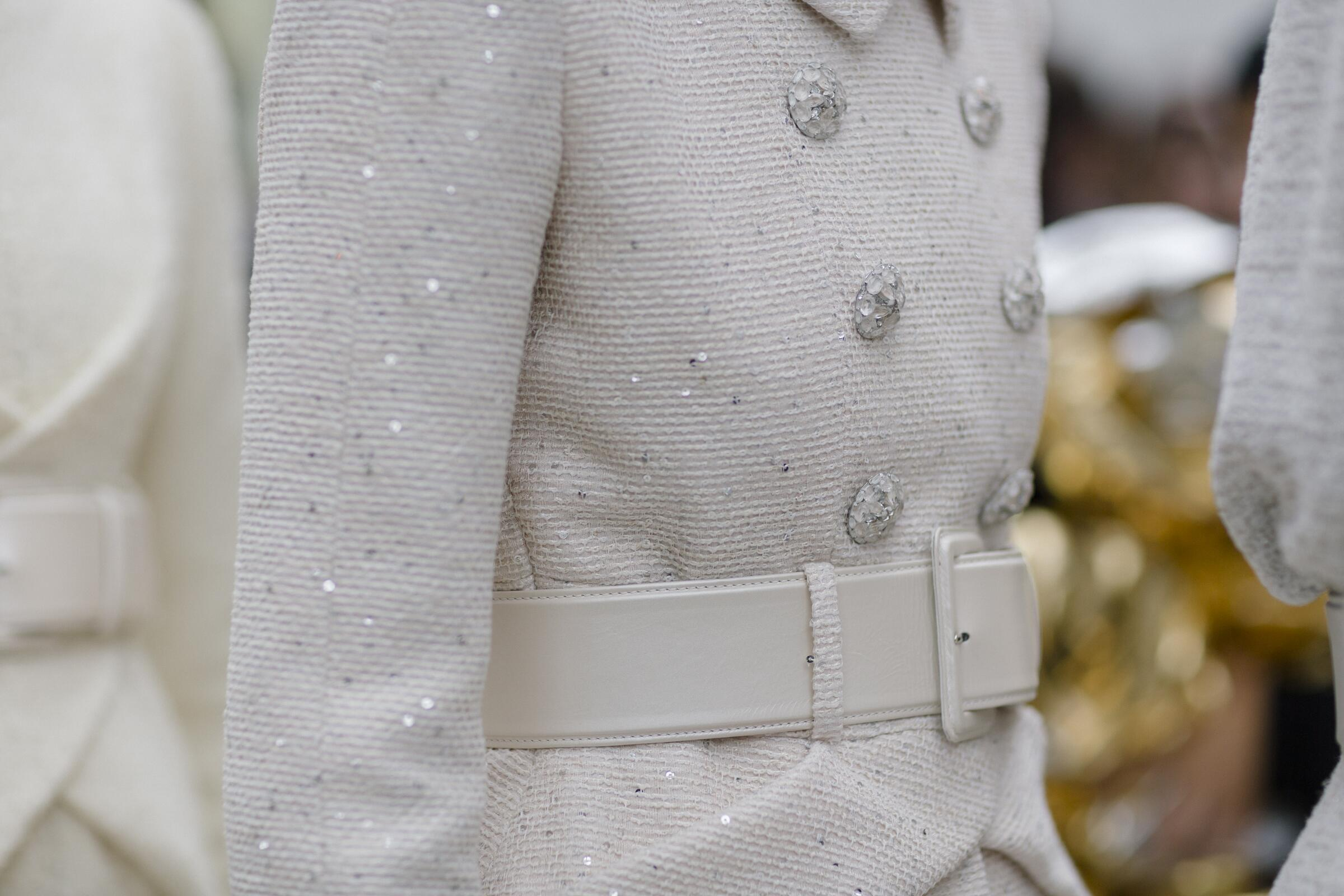 Womens Spring 2017 Fashion Detail Chanel Haute Couture