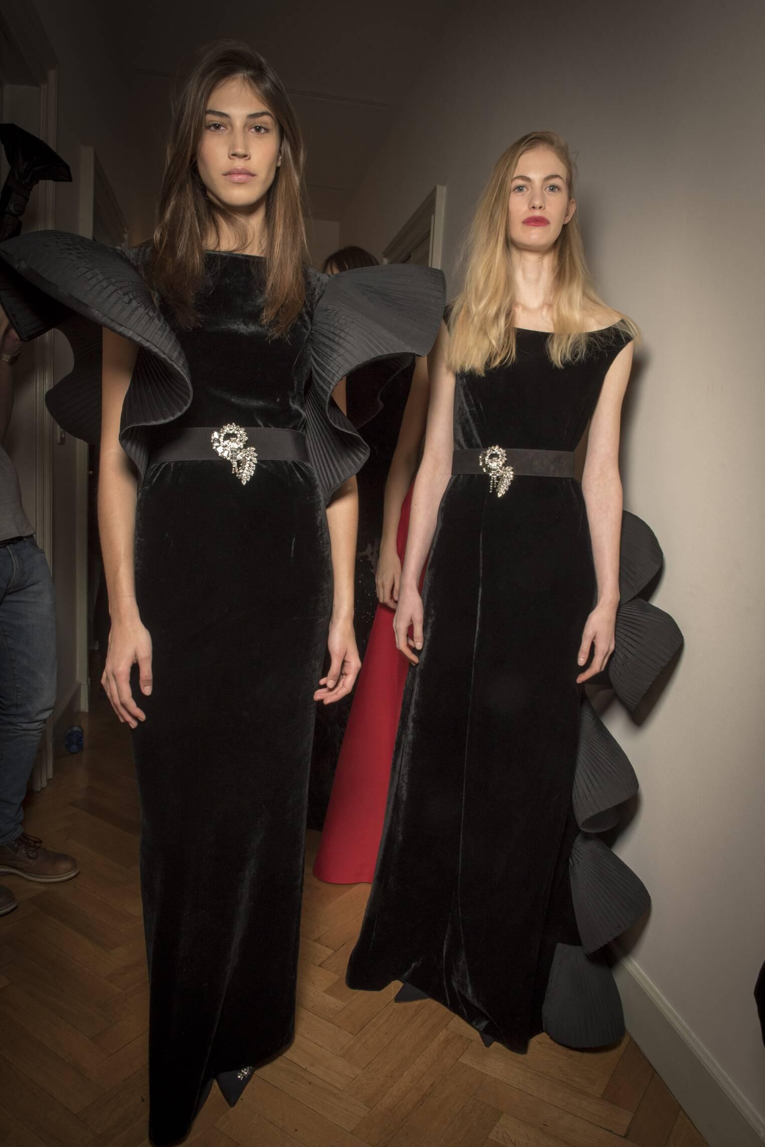 Womenswear FW Backstage Alberta Ferretti 2017 Fashion Week