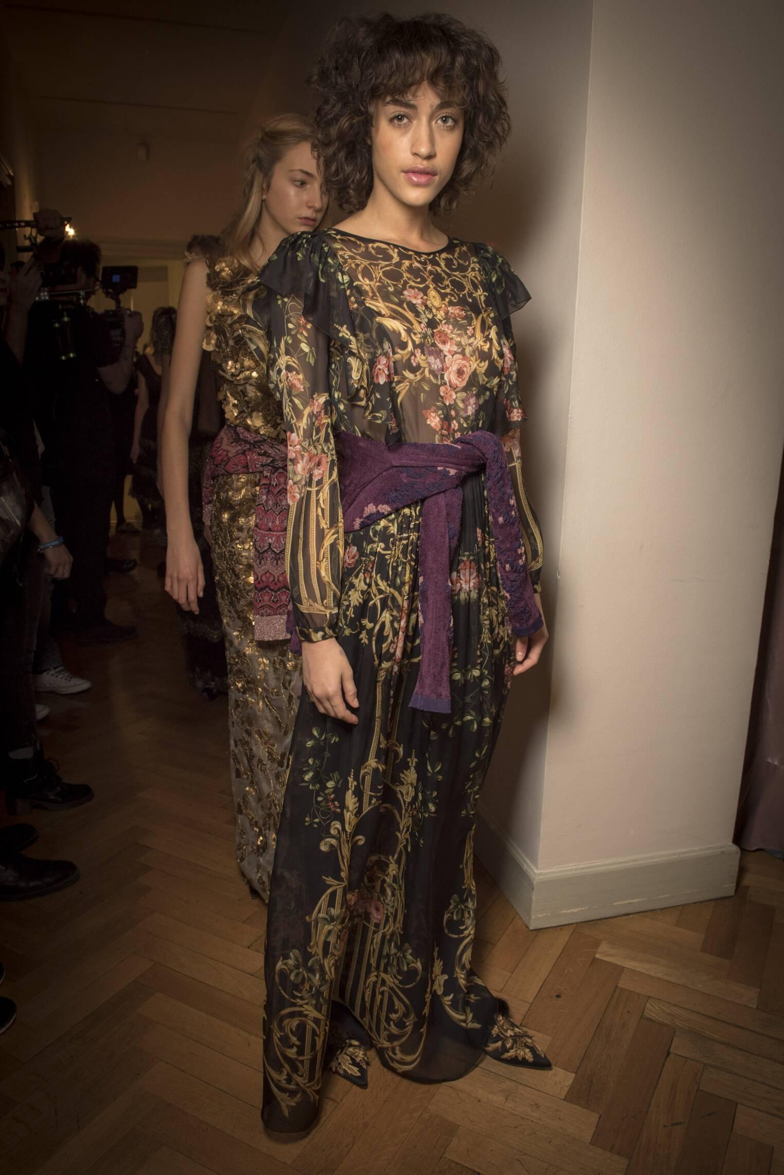 Womenswear FW Backstage Alberta Ferretti 2017