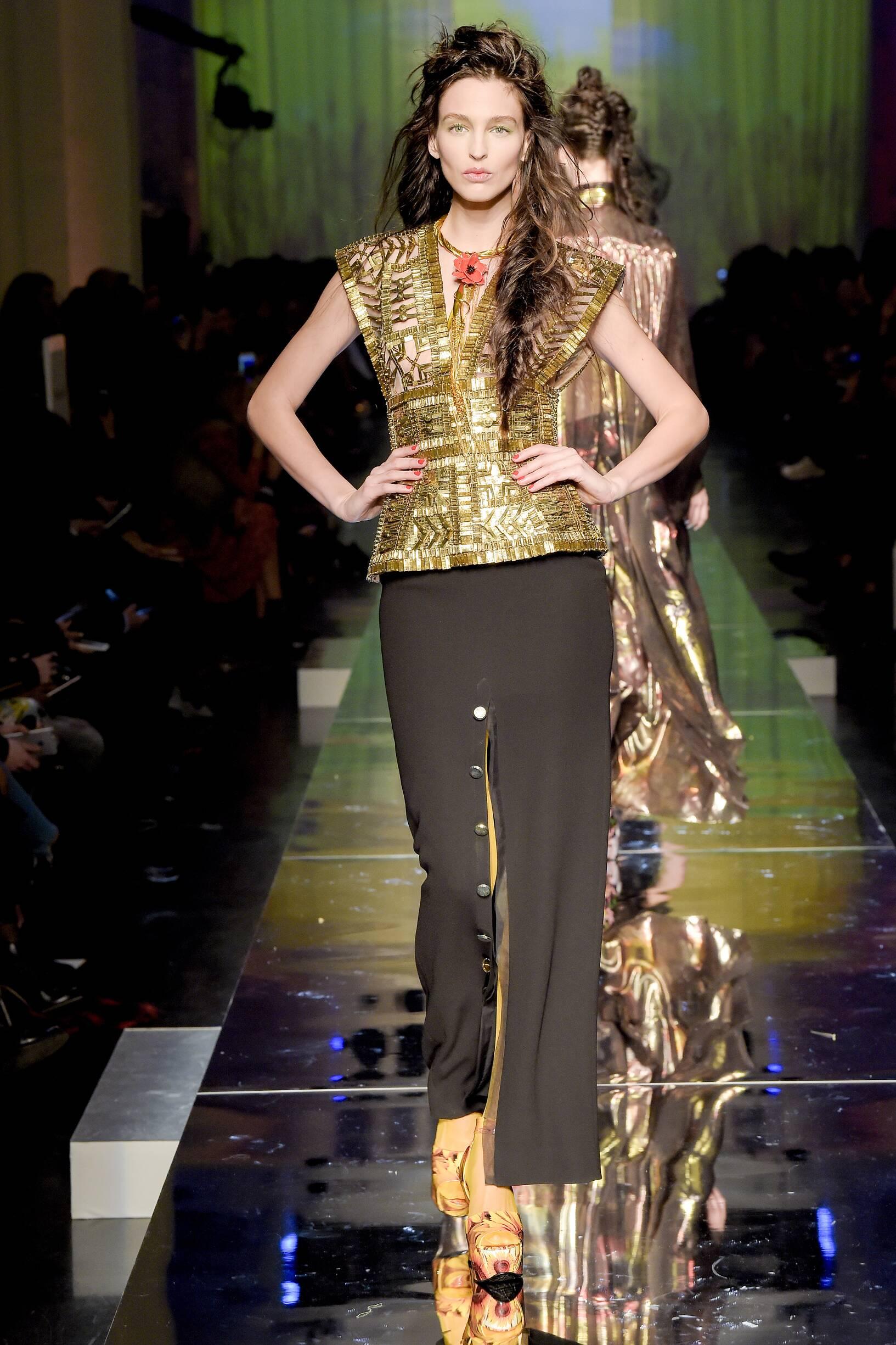 Womenswear SS Jean Paul Gaultier Couture 2017