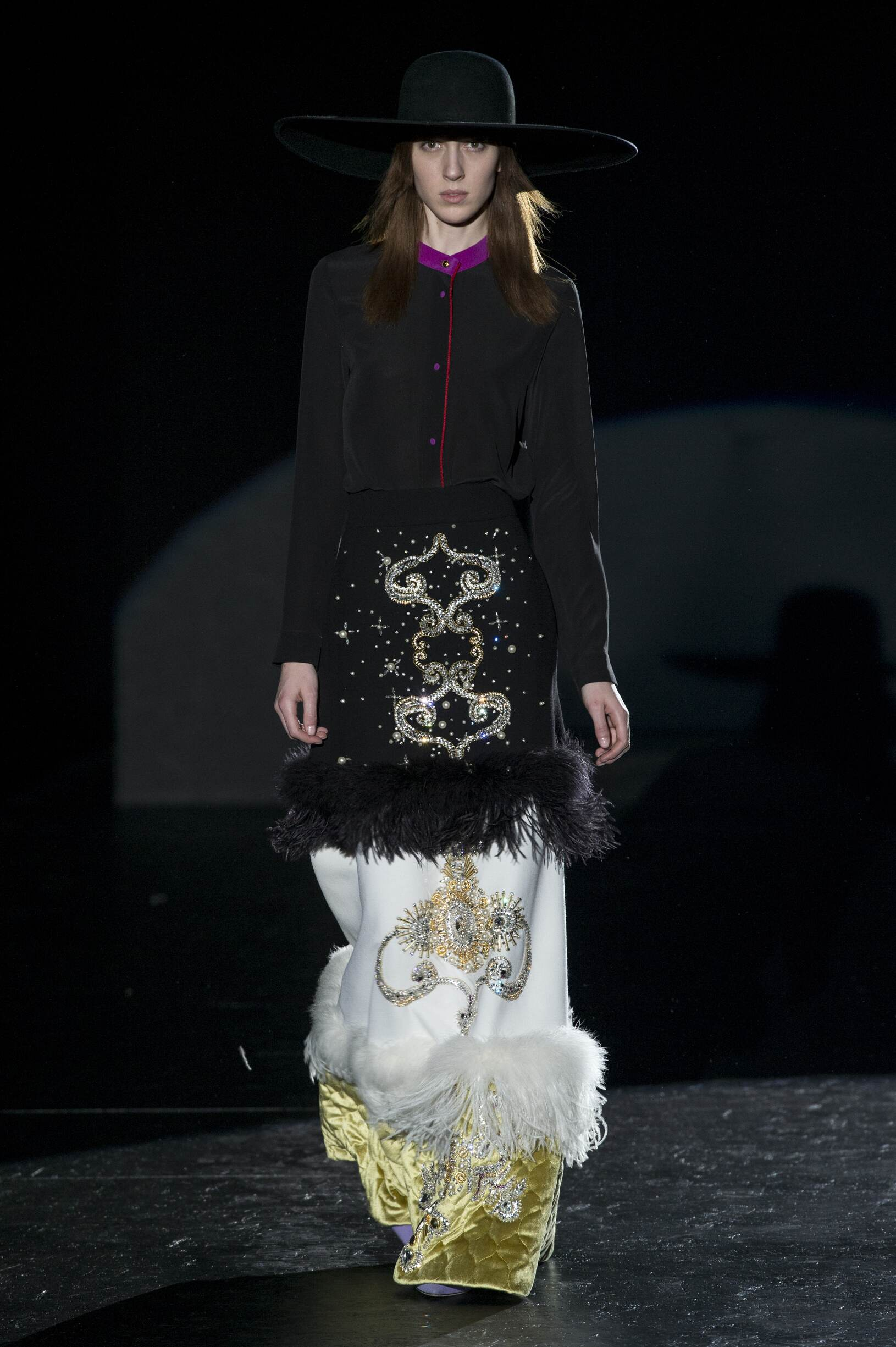 2017-18 Catwalk Fausto Puglisi Woman Fashion Show Winter