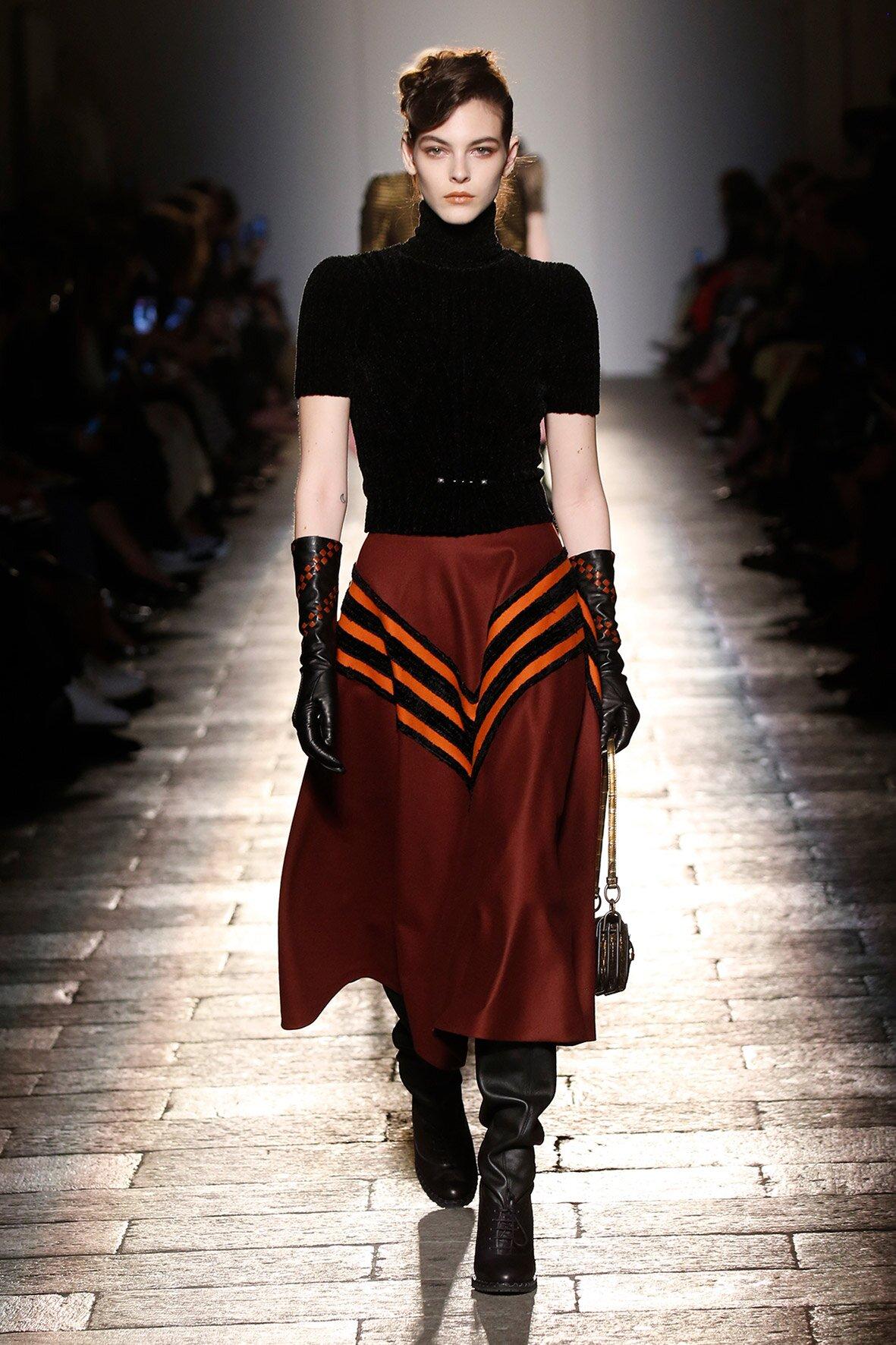 2017-2018 Catwalk Bottega Veneta Fall Winter Woman