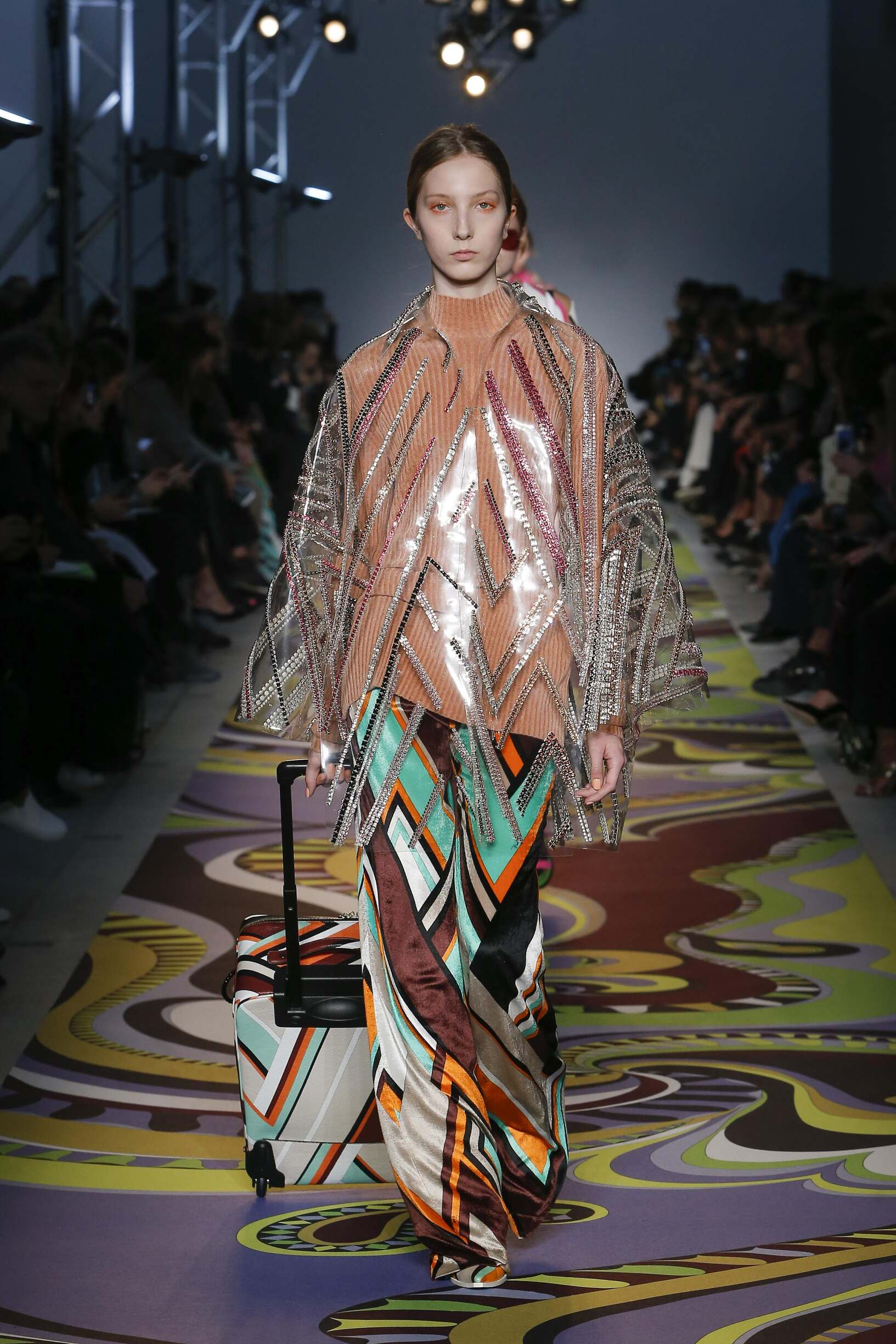 2017-2018 Runway Emilio Pucci Woman Winter