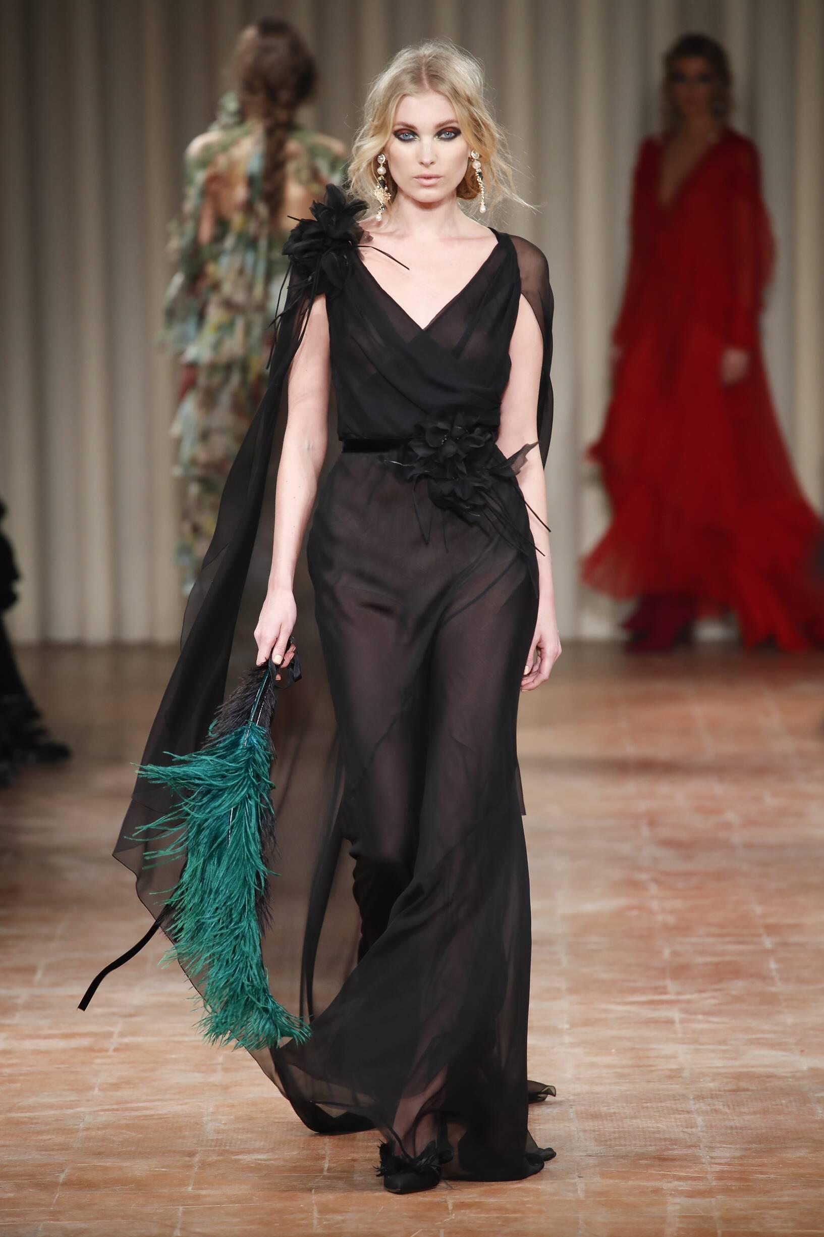 2017 Woman Style Alberta Ferretti