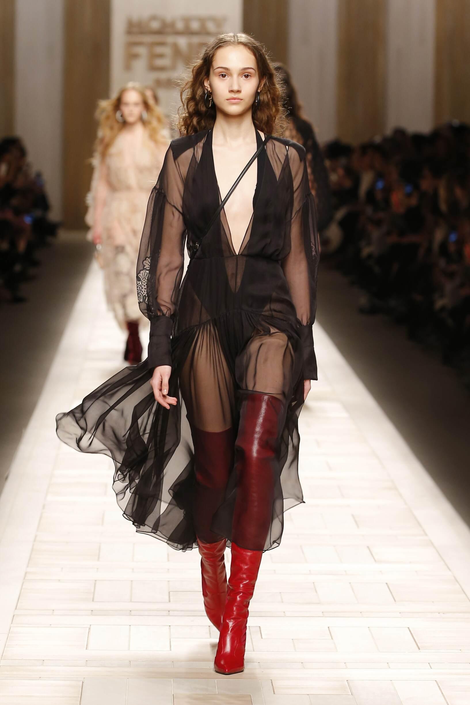 2017 Womenswear Style Fendi