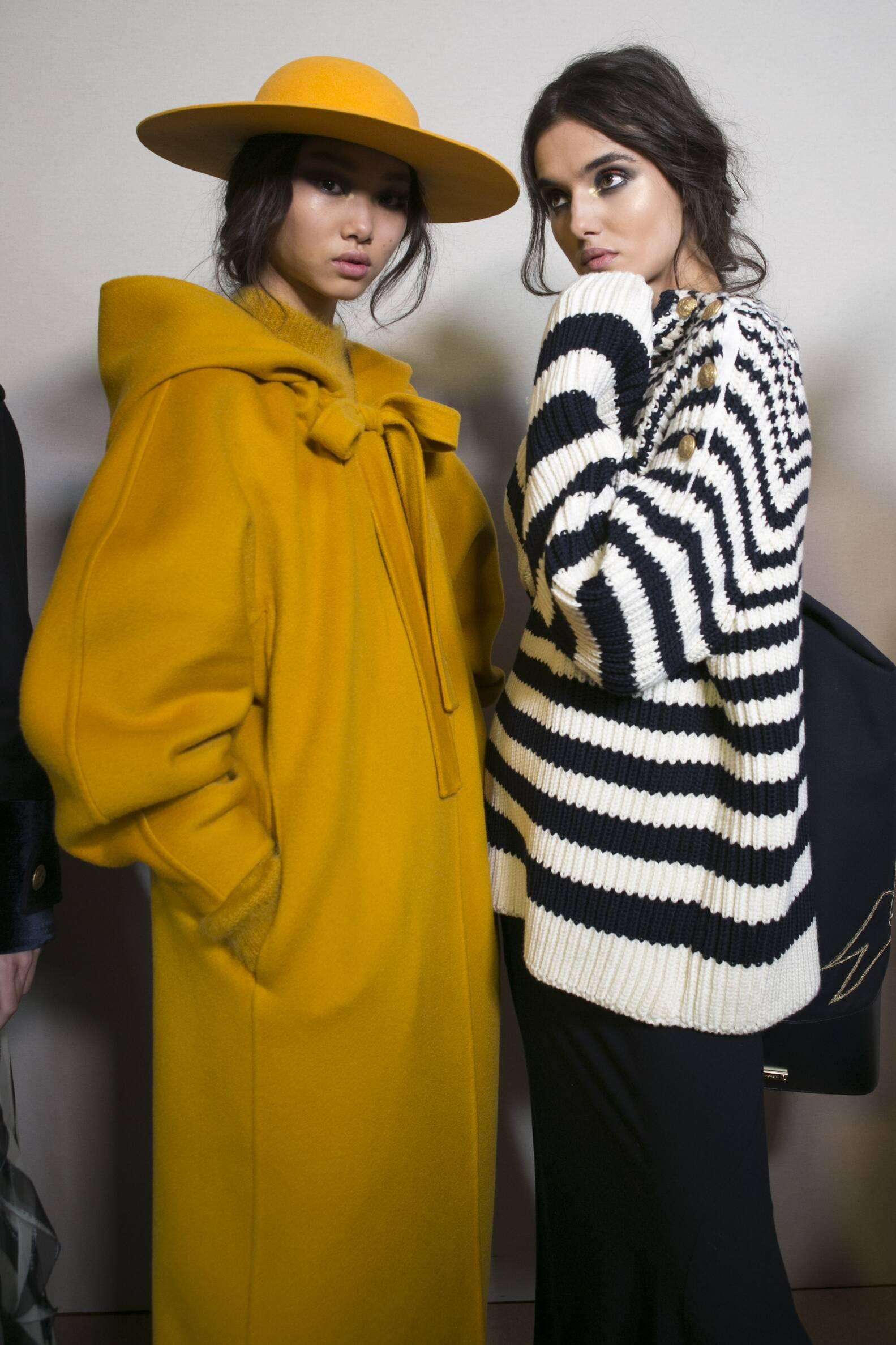 Backstage Alberta Ferretti Models 2017 Womens Collection Milan Fashion Week