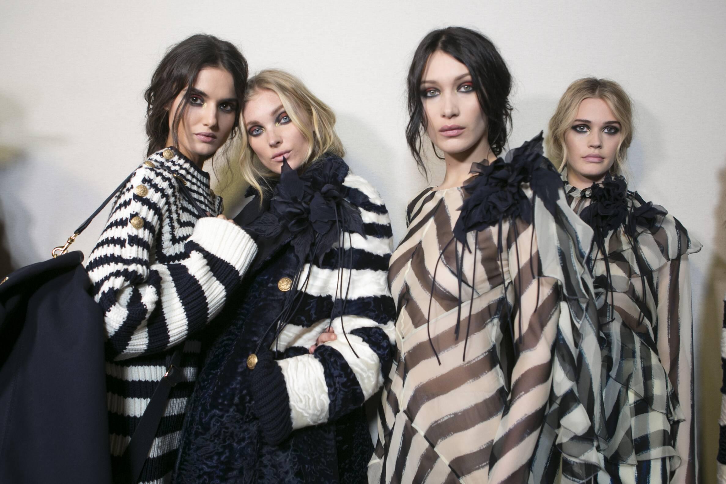 Backstage Alberta Ferretti Models Milan Fashion Week