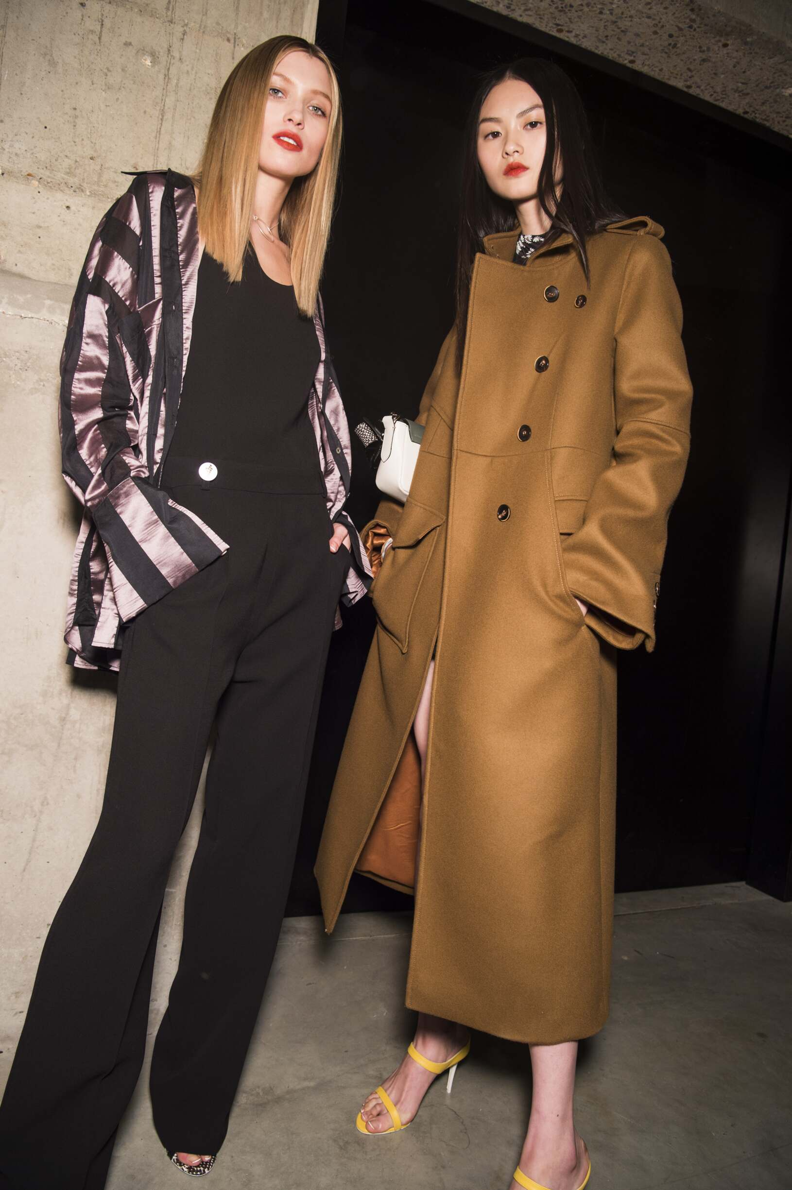 Backstage Topshop Unique Fall 2017