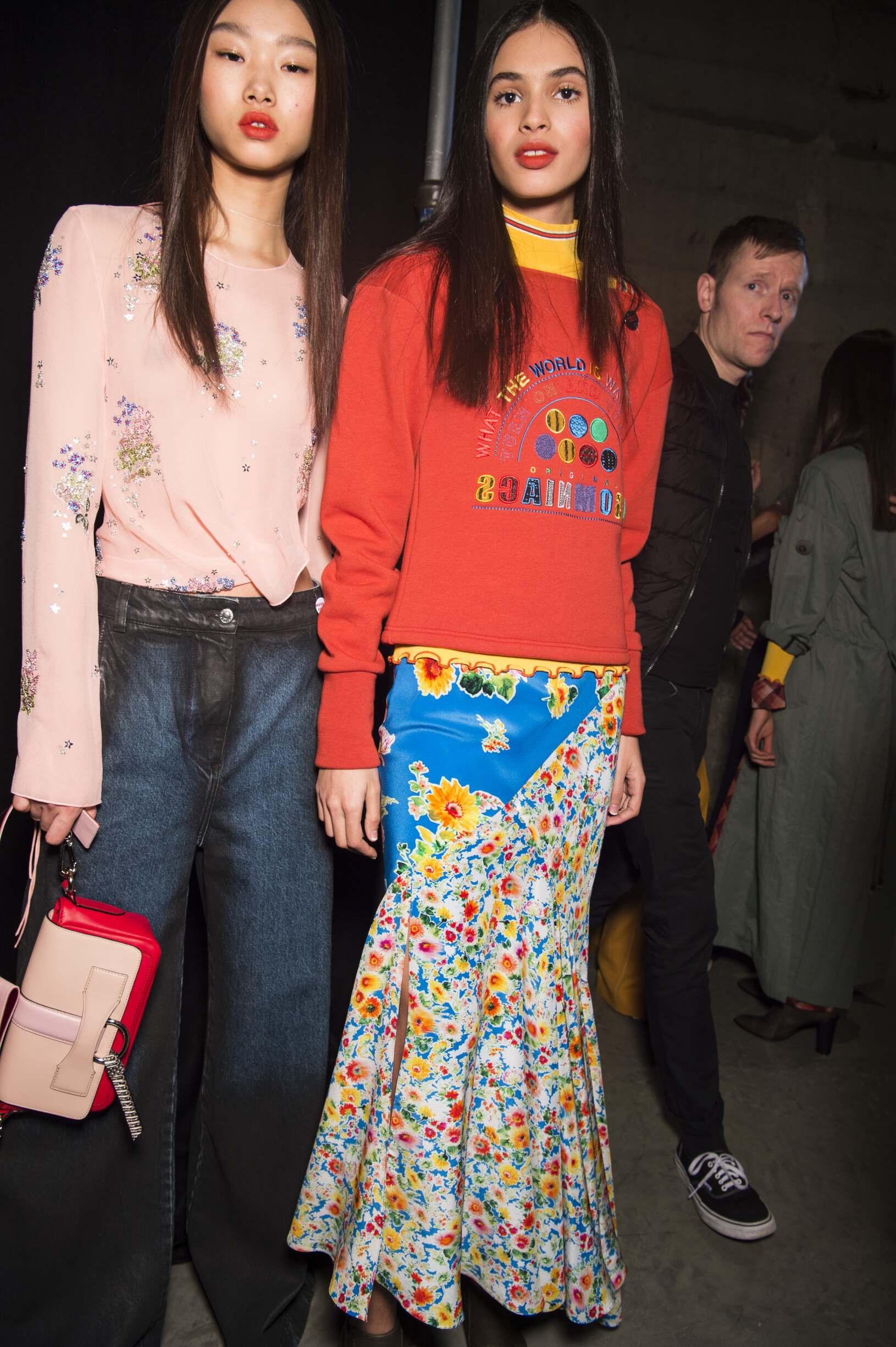 Backstage Topshop Unique Fashion Models London