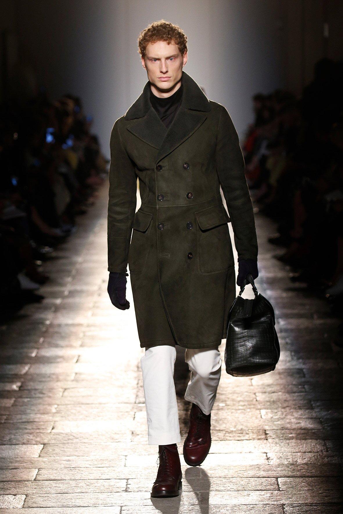 Bottega Veneta Man Milan Fashion Week