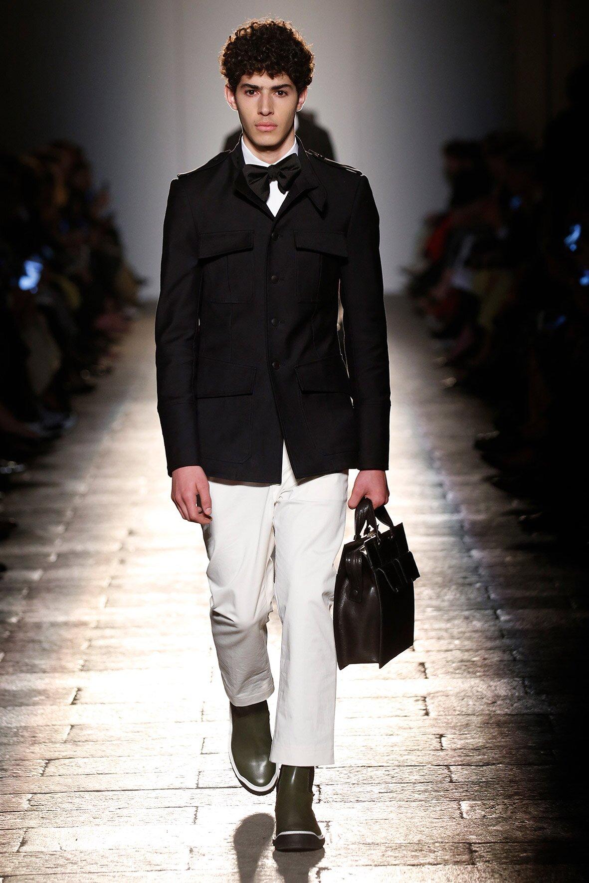 Bottega Veneta Milan Fashion Week Menswear