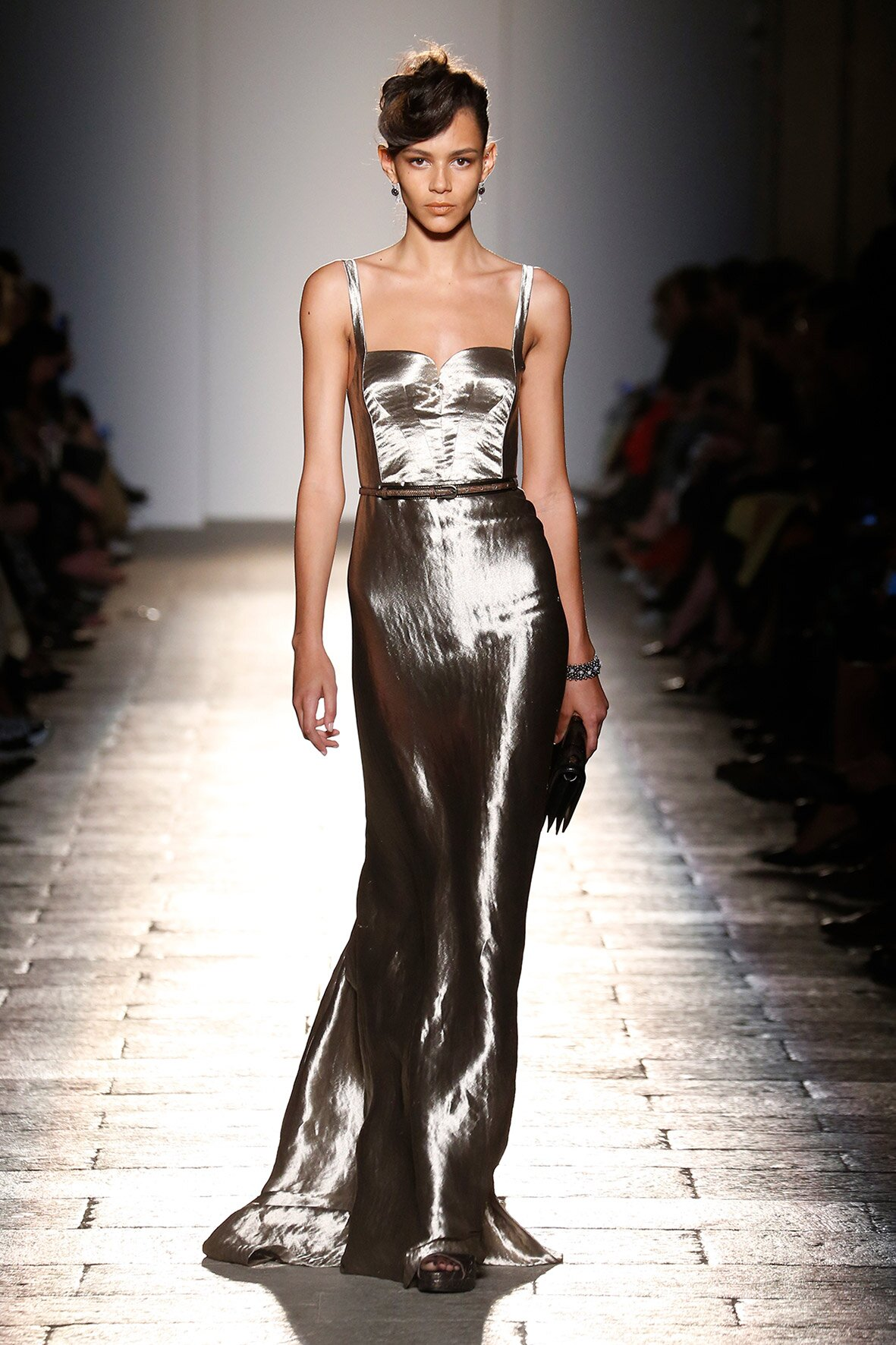 Bottega Veneta Woman Milan Fashion Week