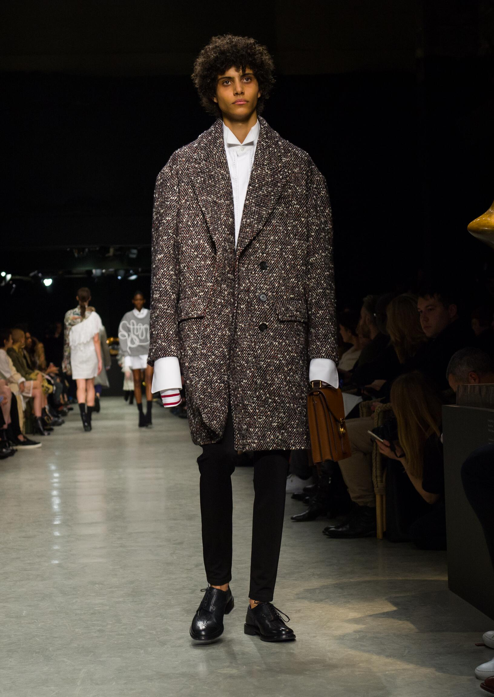 Burberry Fall 2018 Catwalk Menswear