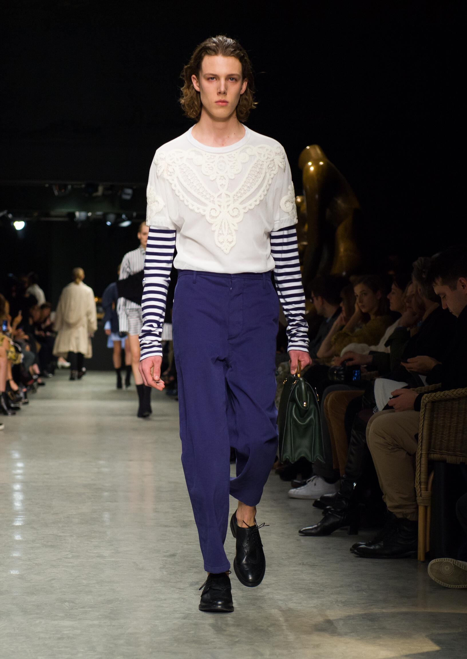 Burberry Man February Collection Fashion Show