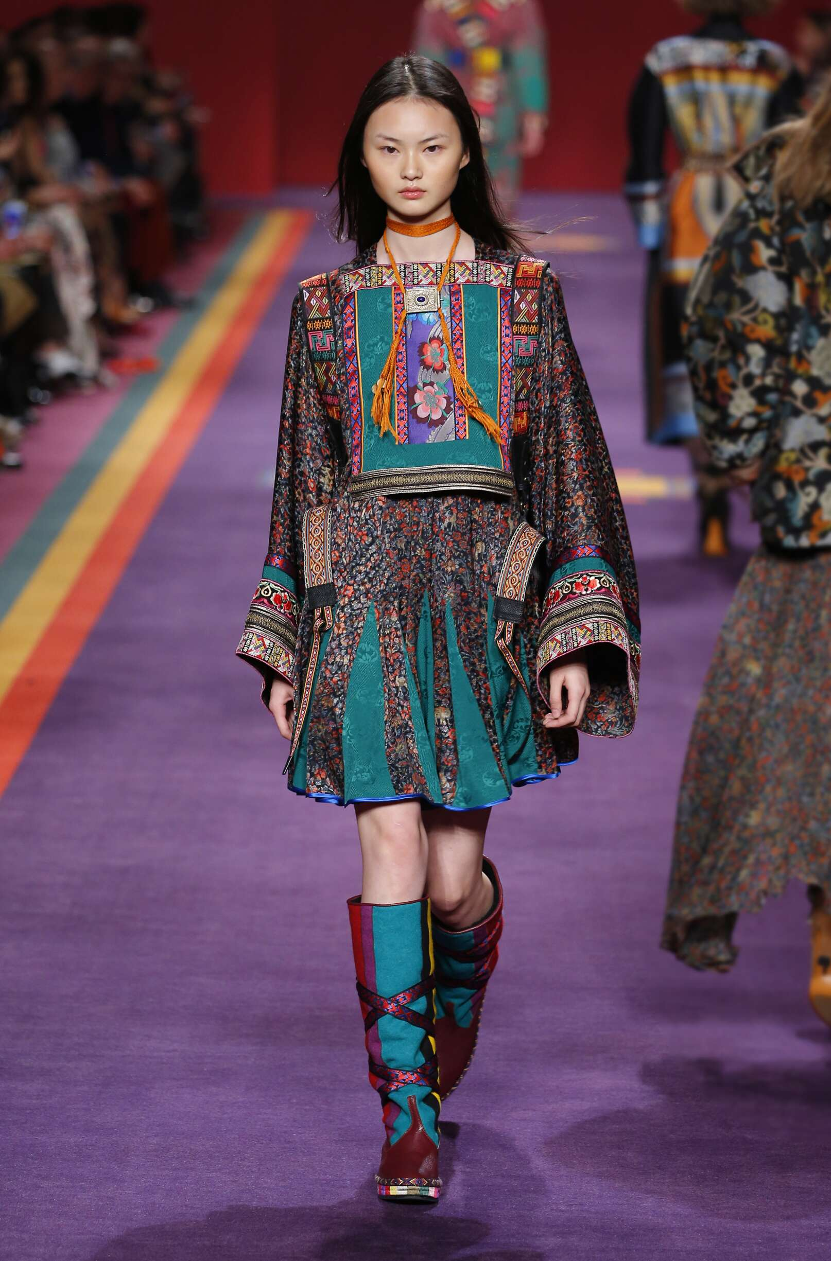 Catwalk Etro Winter 2017