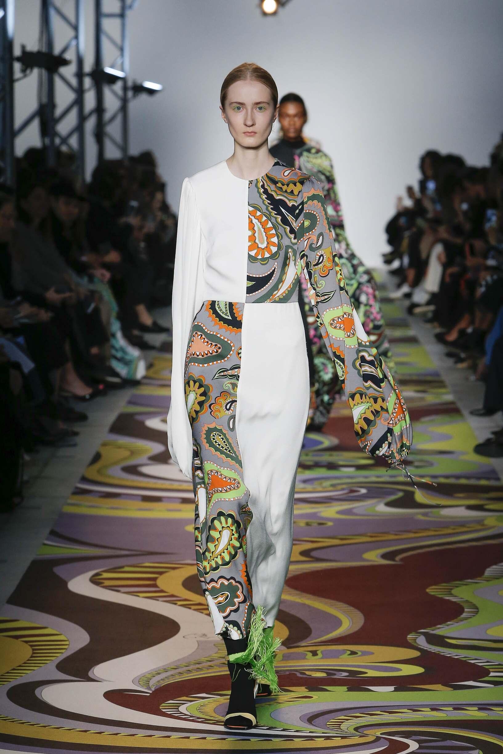 Emilio Pucci Milan Fashion Week Womenswear