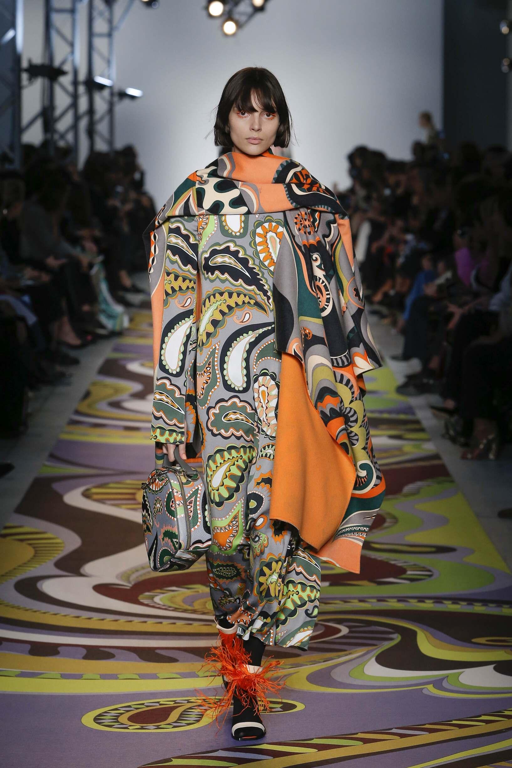 Emilio Pucci Women's Collection 2017