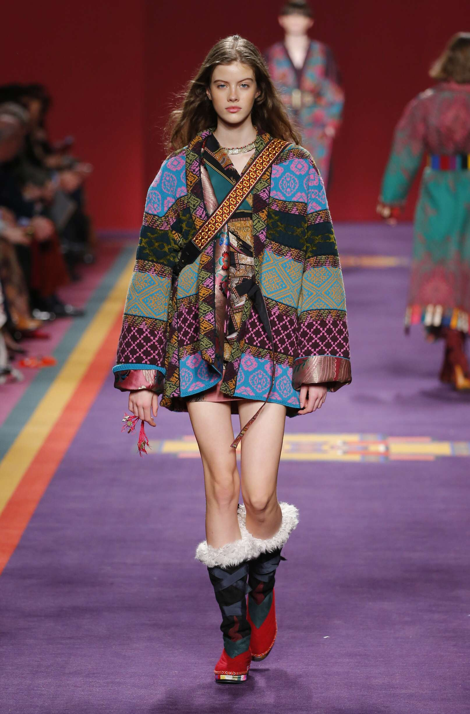 Etro Winter 2017 Catwalk