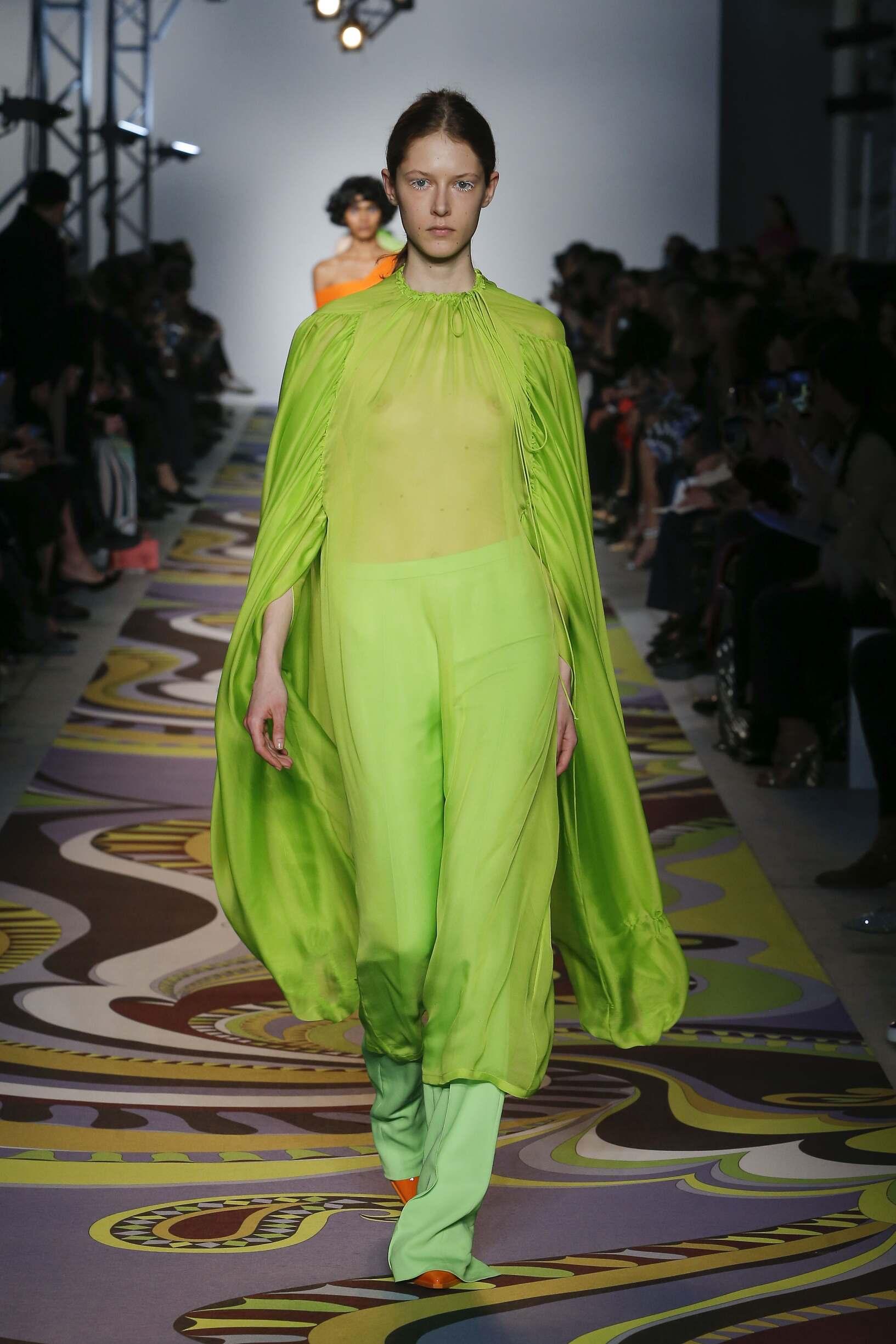 FW 2017-18 Emilio Pucci Woman Model