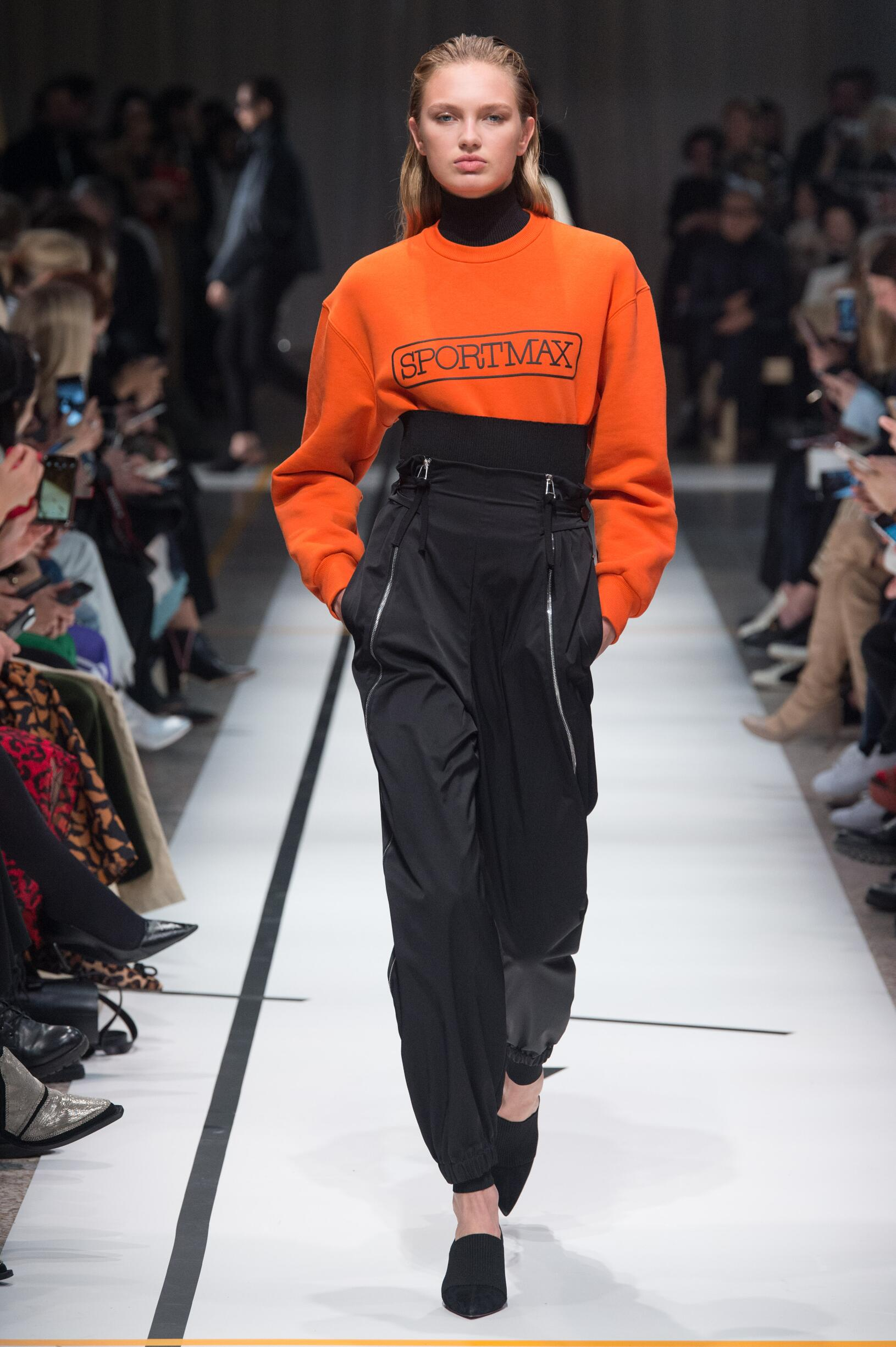 FW 2017-18 Sportmax Woman Model