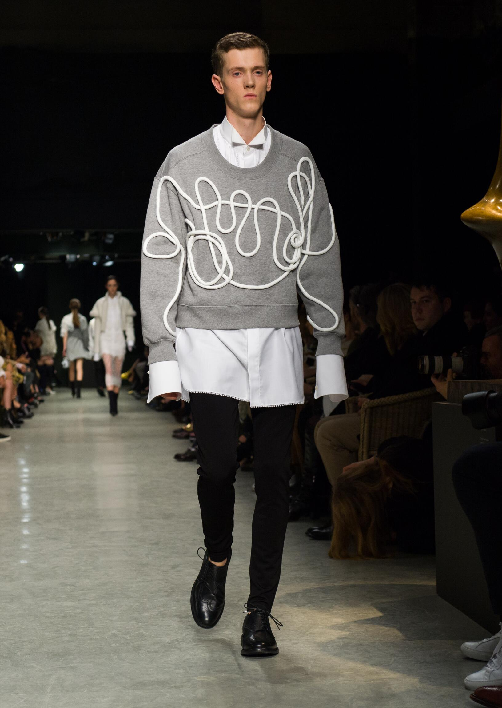 Fashion 2017-18 Man Style Burberry