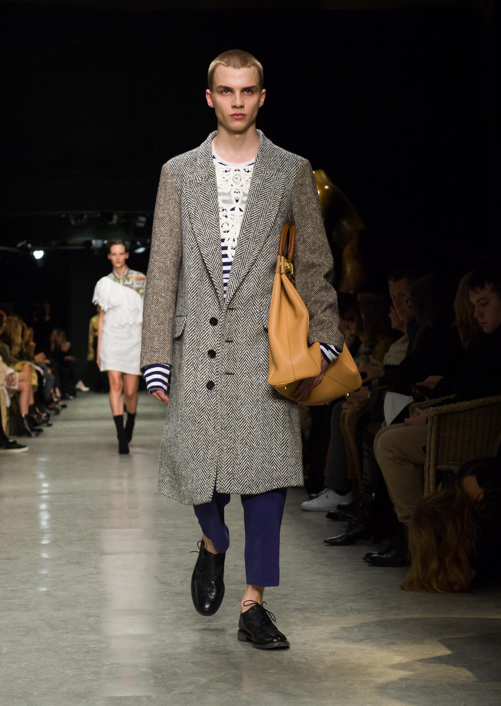 Fashion 2017-2018 Man Style Burberry