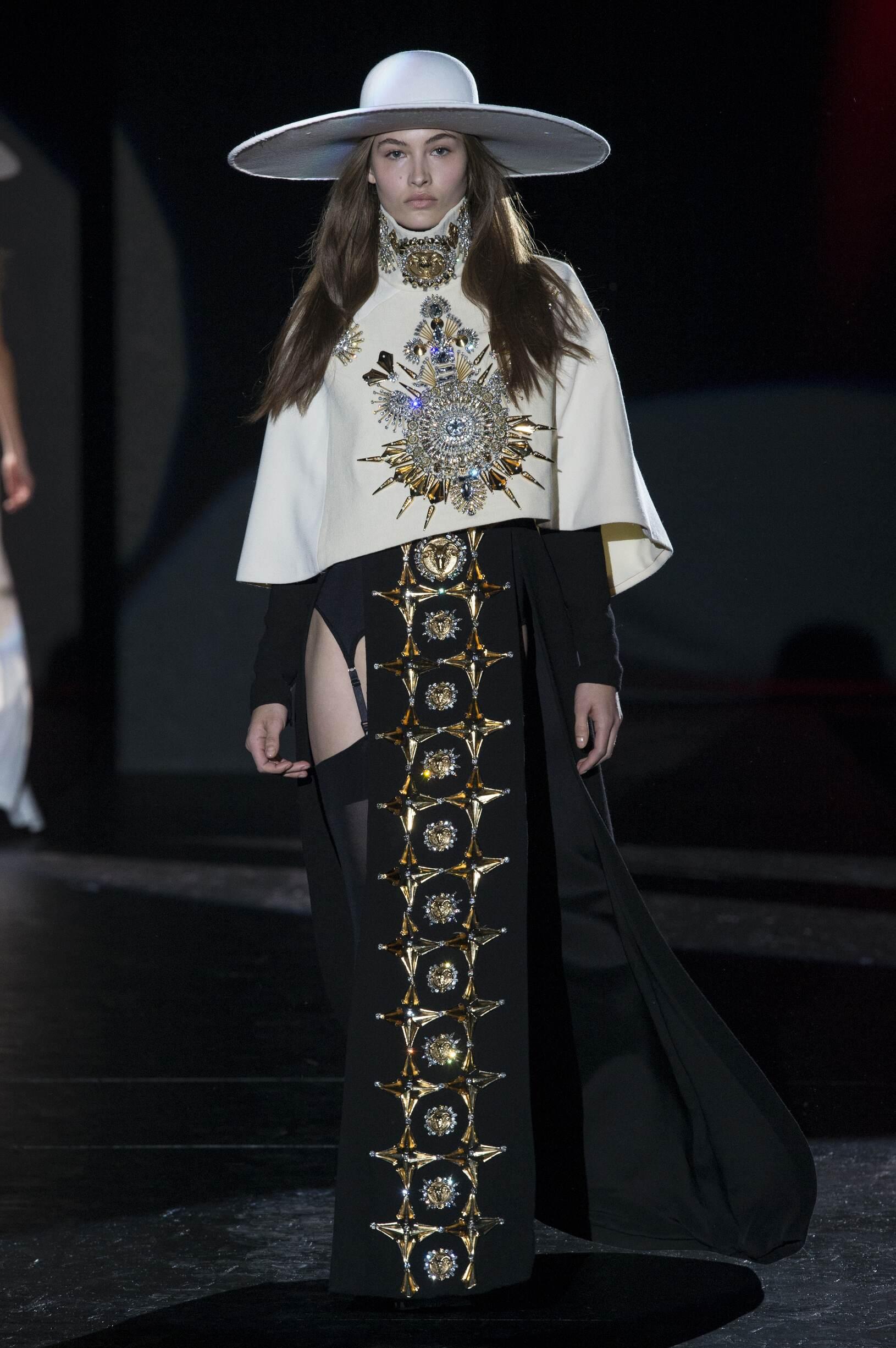 Fashion Model Fausto Puglisi Catwalk