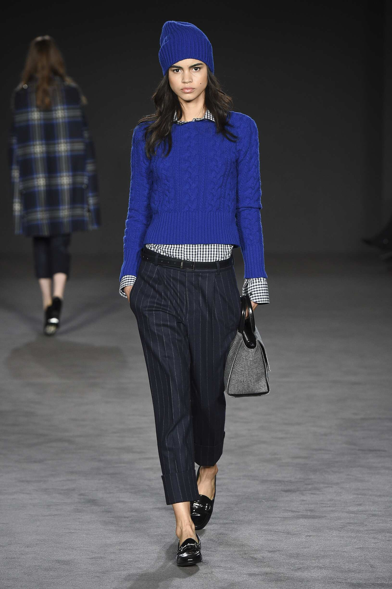 Fashion Woman Model Daks Catwalk
