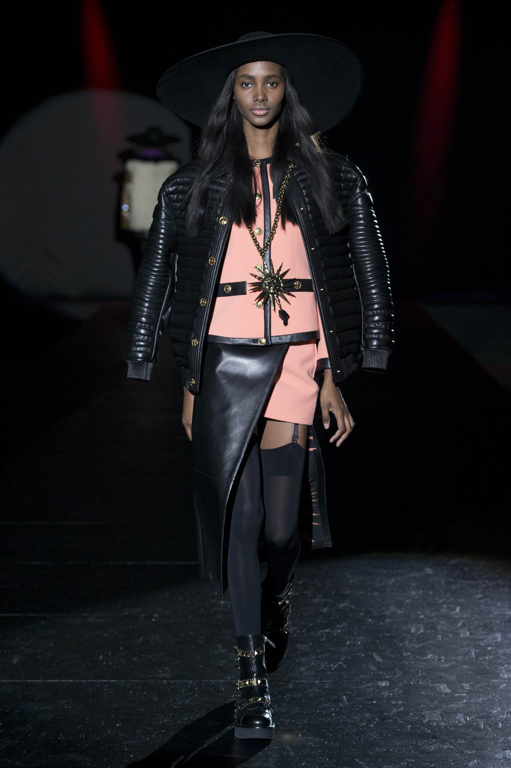 Fashion Woman Model Fausto Puglisi Catwalk