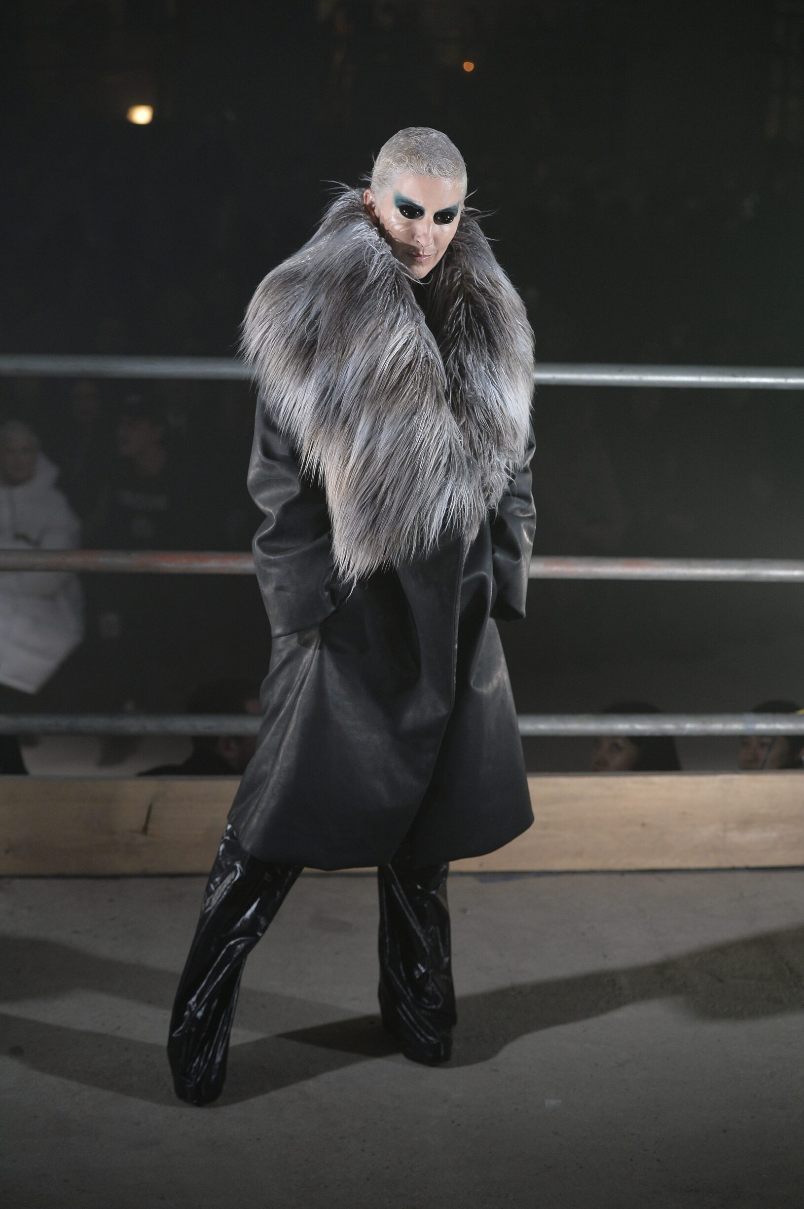 Fashion Woman Model Gareth Pugh Catwalk