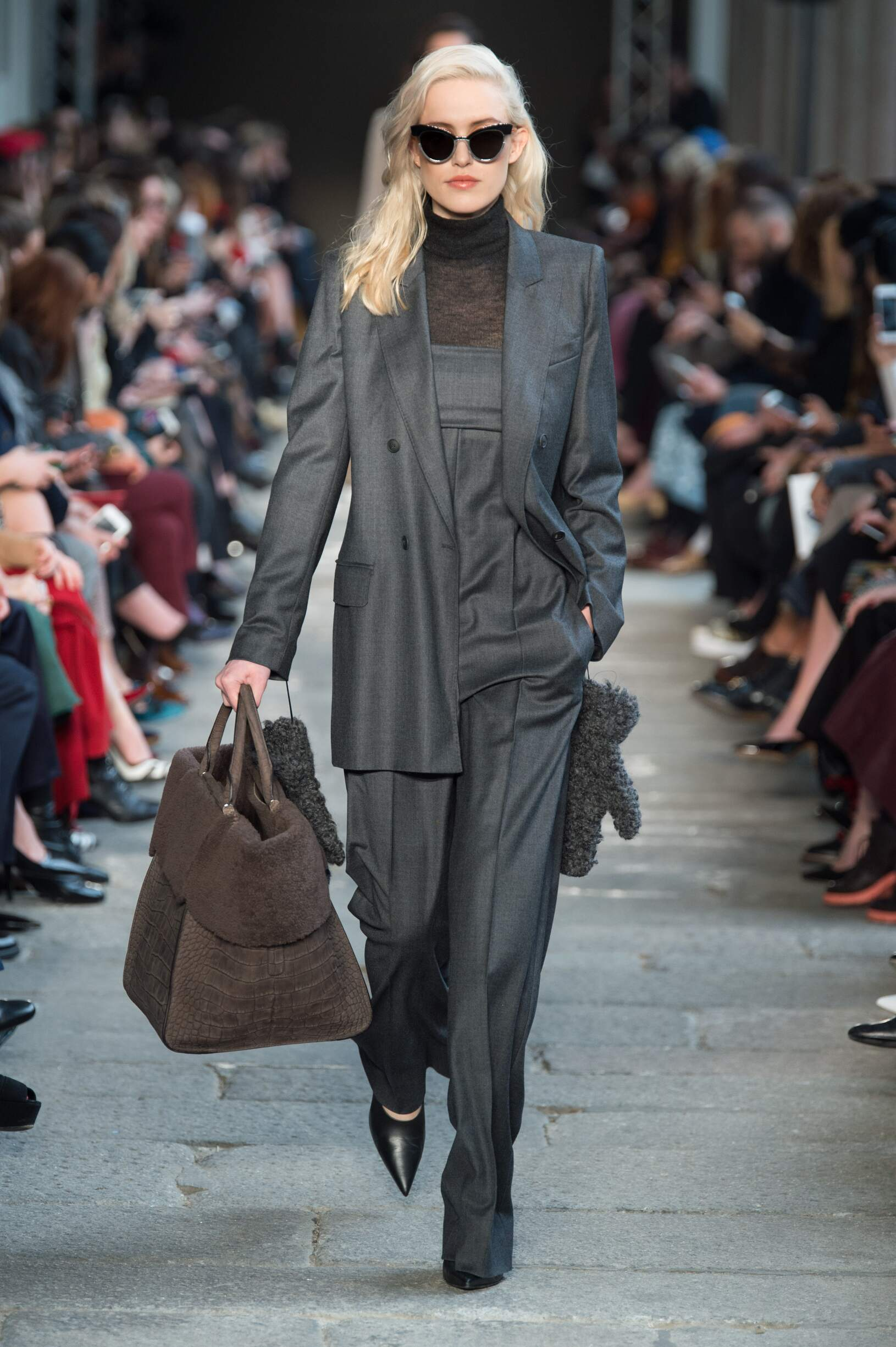 Fashion Woman Model Max Mara Catwalk 17 18