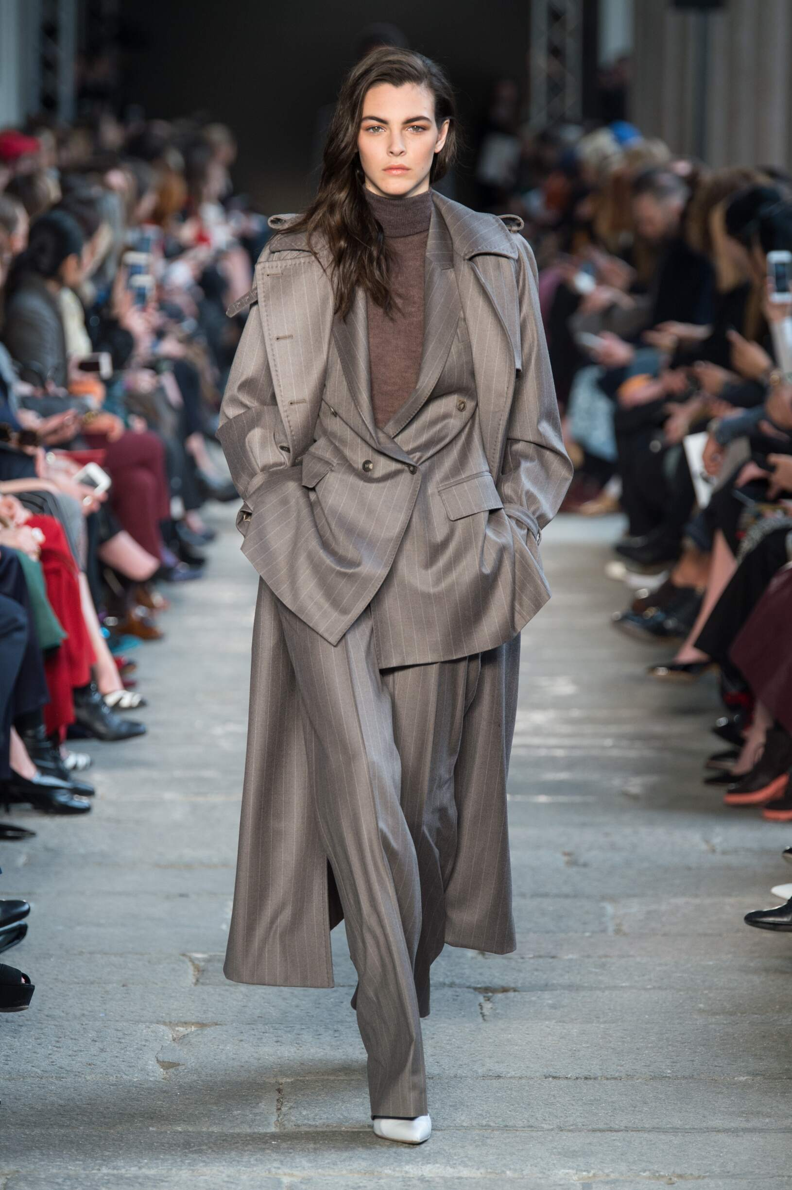 Fashion Woman Model Max Mara Catwalk
