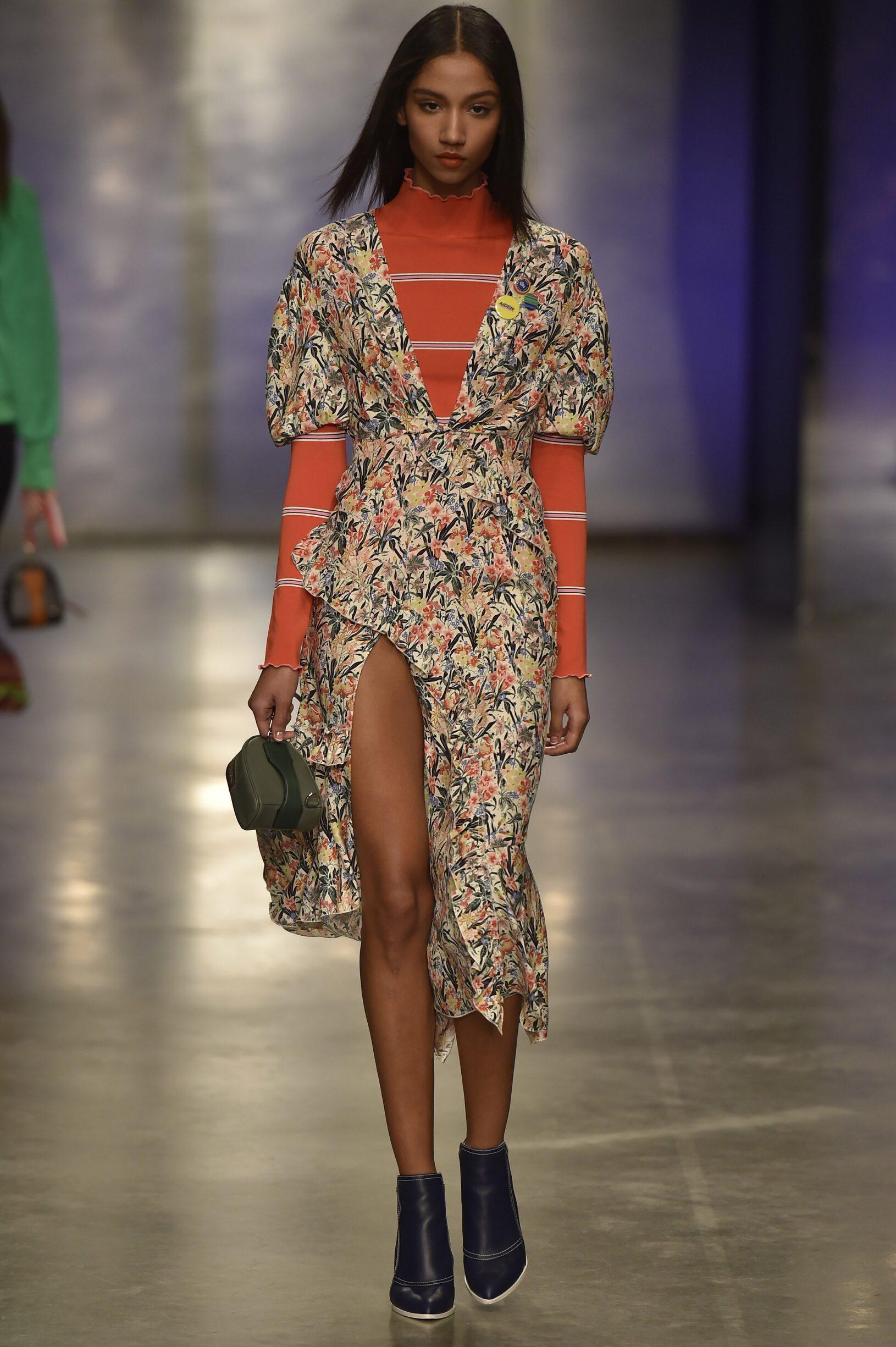 Fashion Woman Model Topshop Unique Catwalk